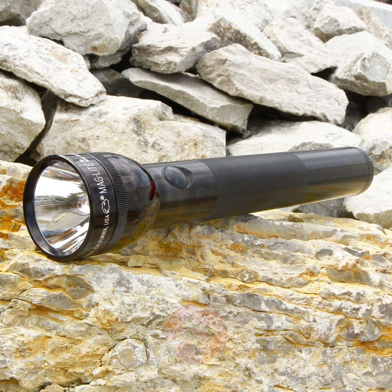 Black torch 3 D-Cell from Maglite-6535014-01