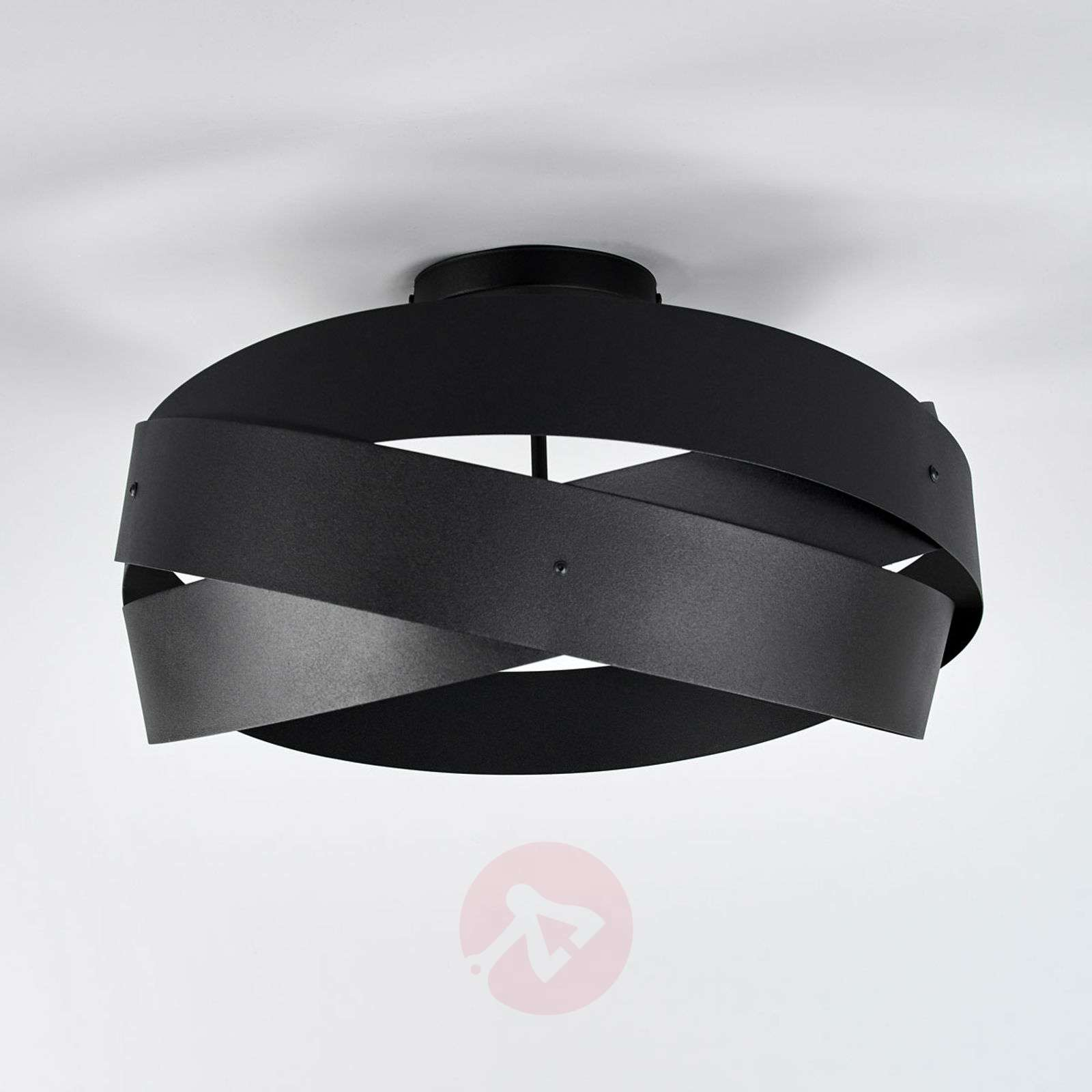 Black Tornado ceiling light-6089023-01