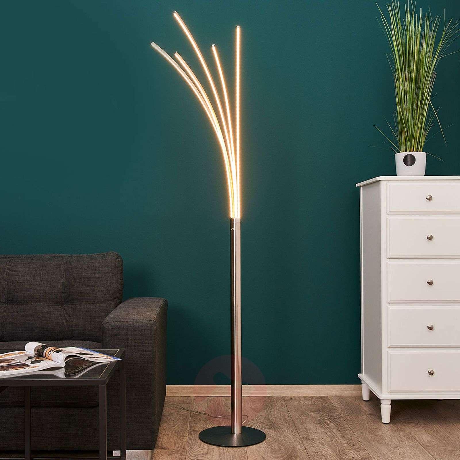 Boba Multi Arm Led Floor Lamp