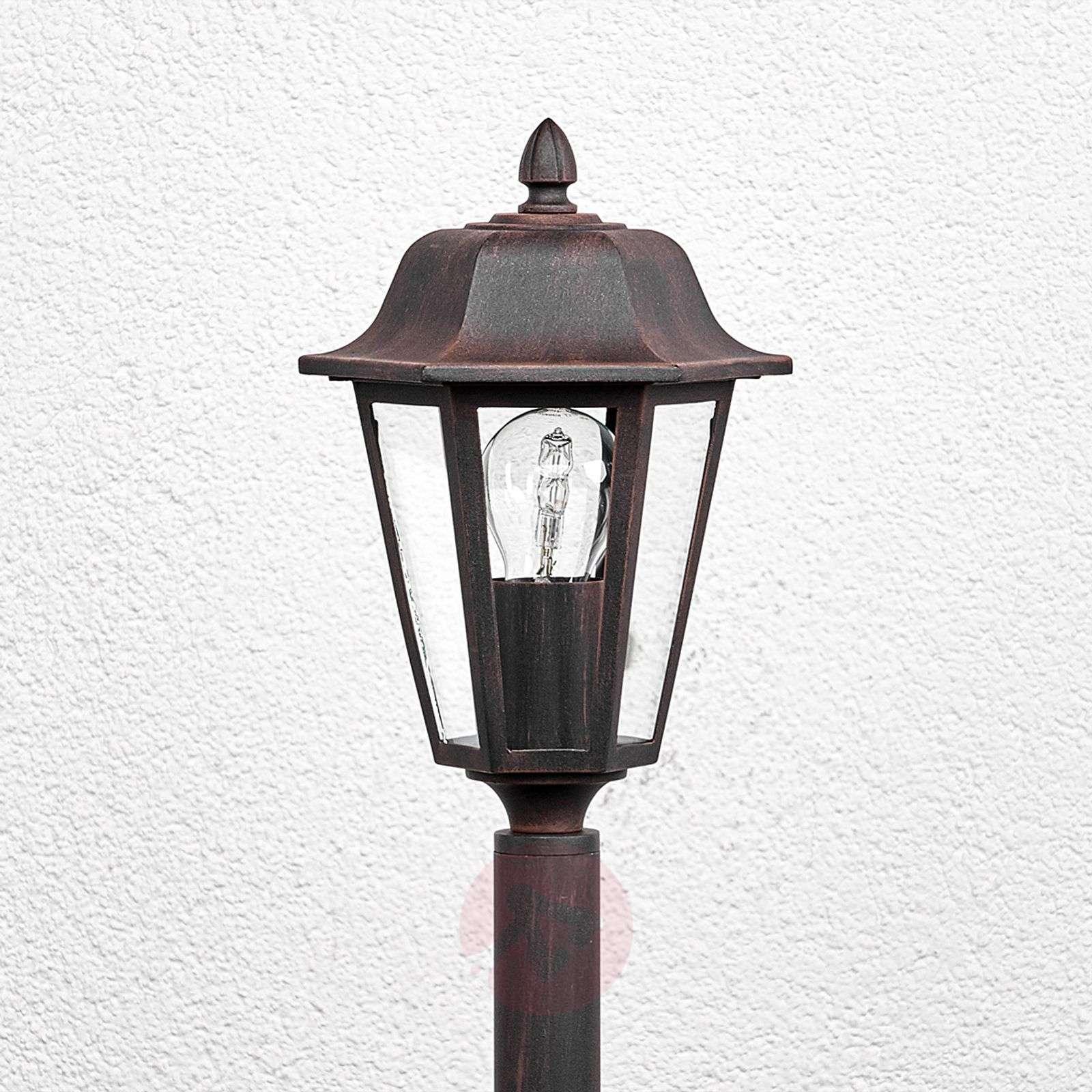 Bollard lamp Lamina in rust finish-9630058-01