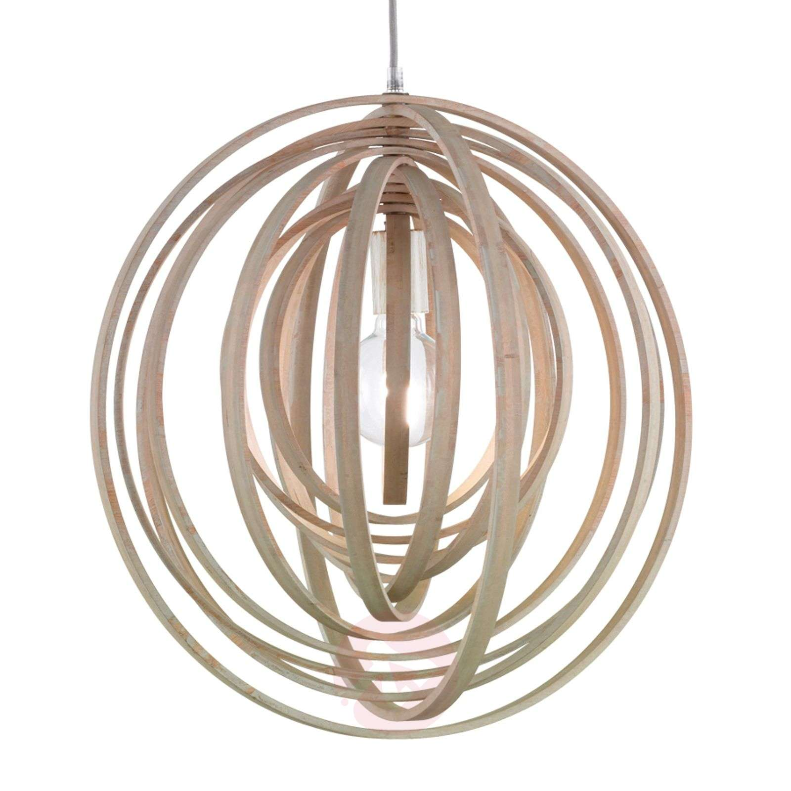 Boolan pendant lamp with a light grey lampshade-9005339-01