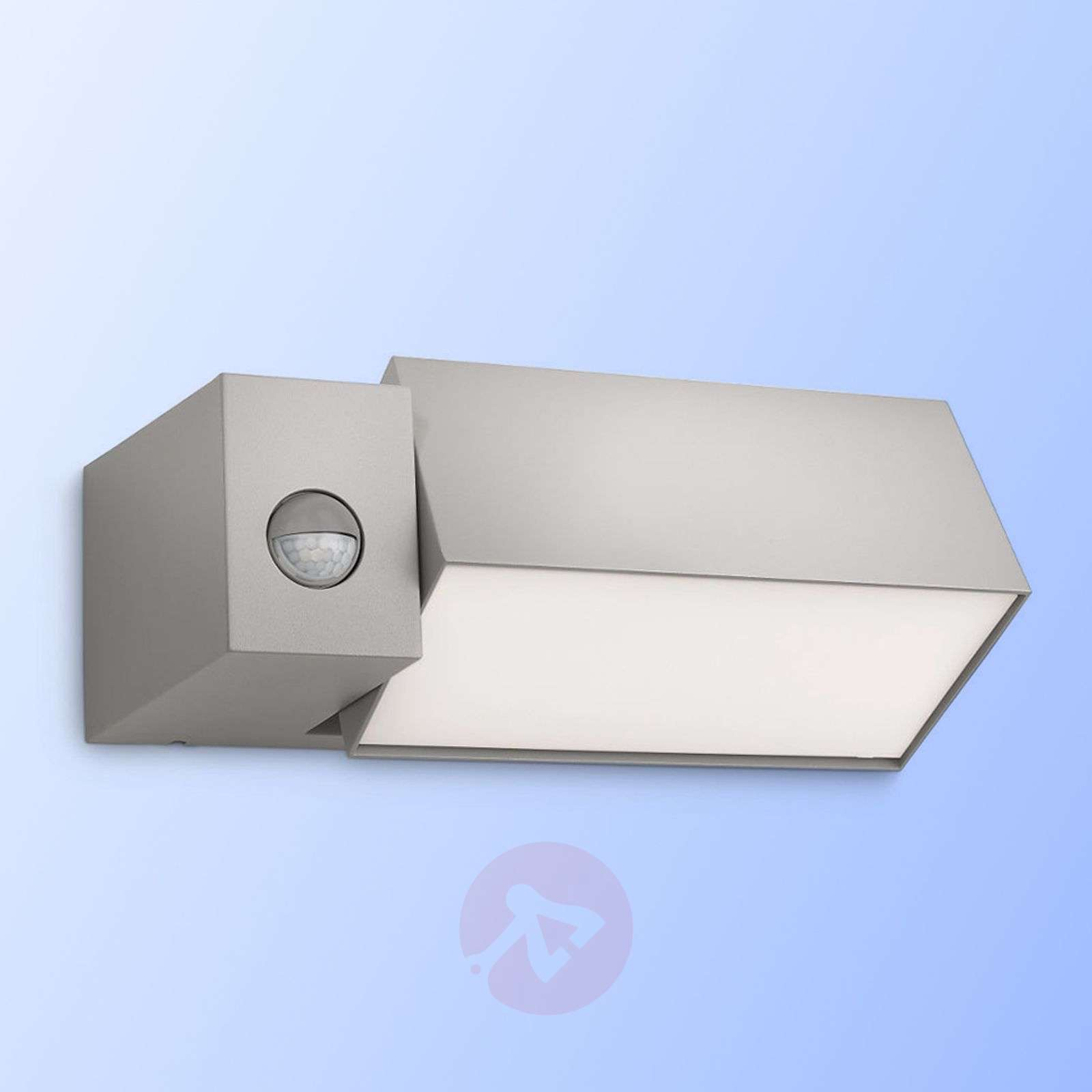 Border Wall Light with Motion Detector Grey-7531573-02