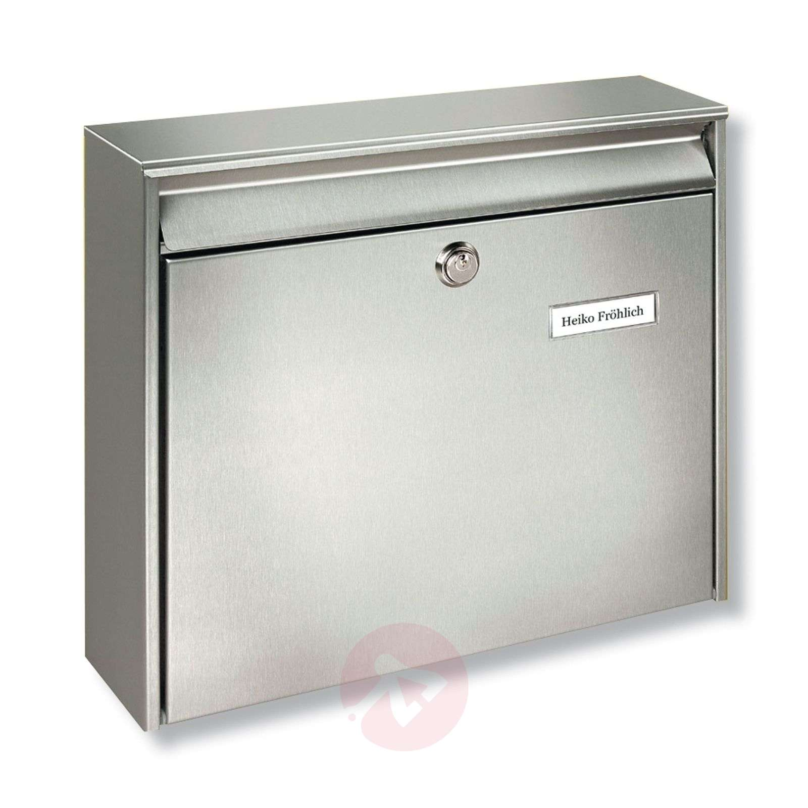 Borkum stainless steel letter box-1532041-01