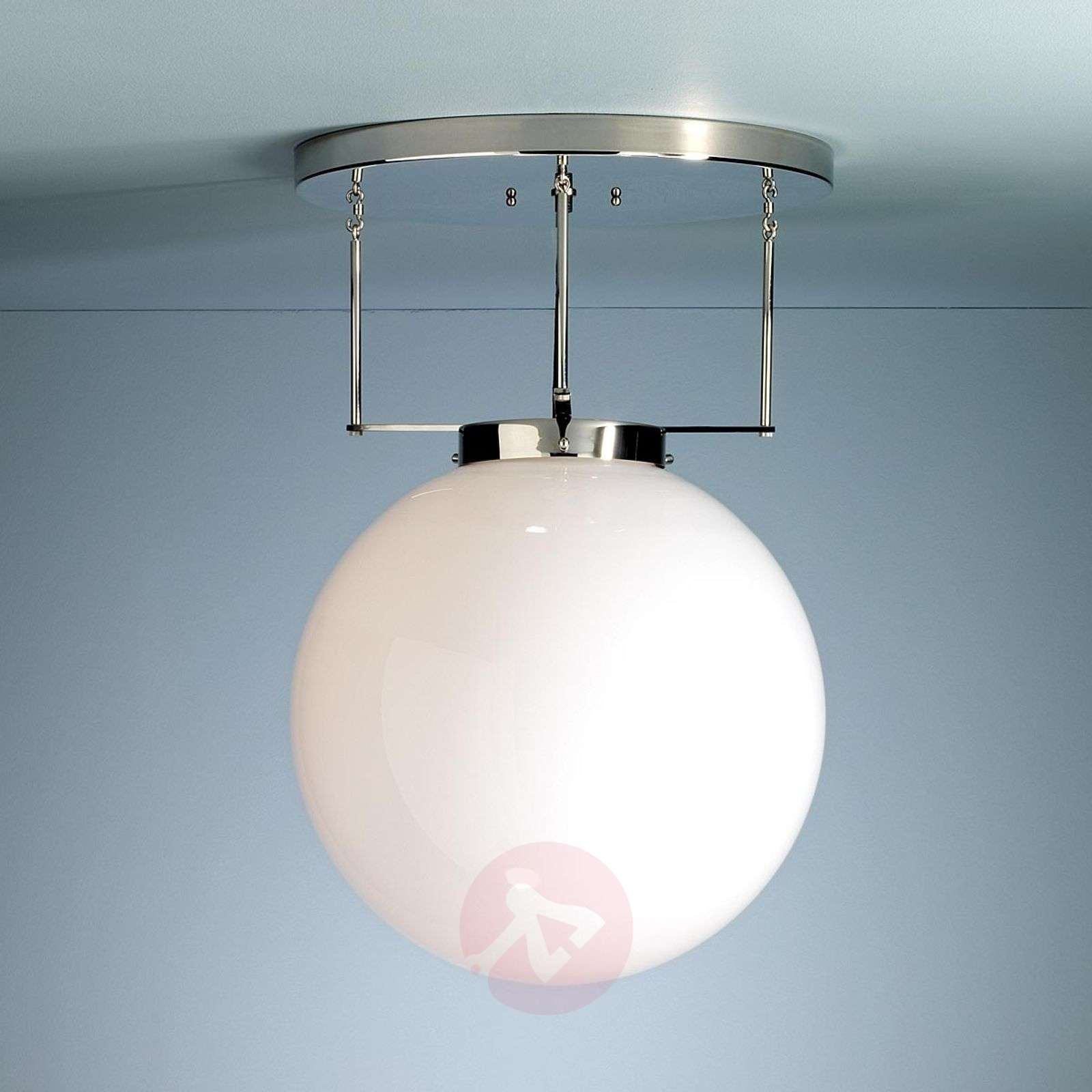 Brandt's ceiling light in Bauhaus style, nickel-9030113X-01