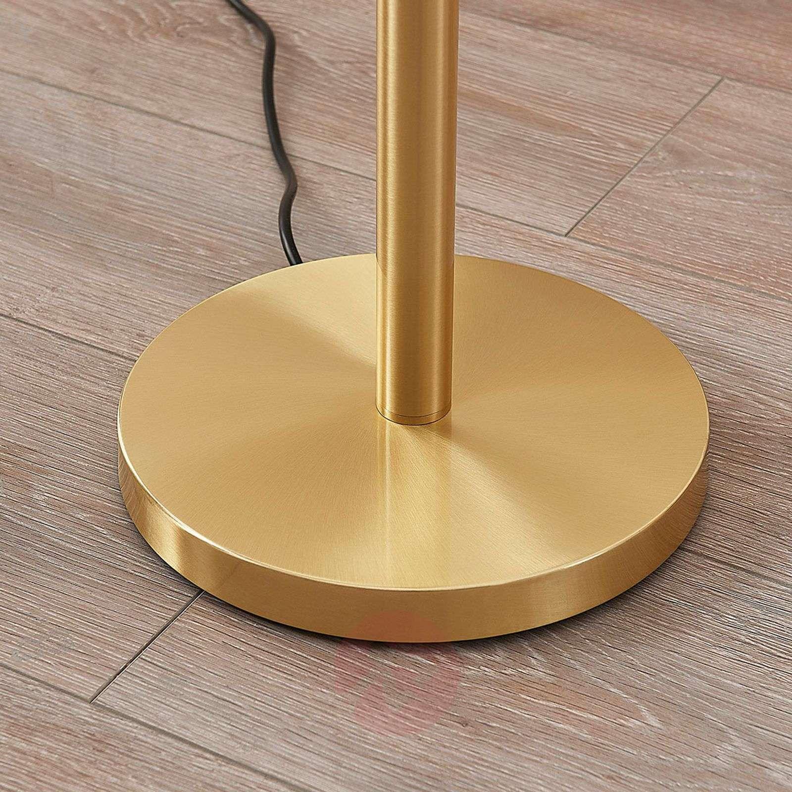 Brass-coloured LED uplighter Ignacia-9621679-02