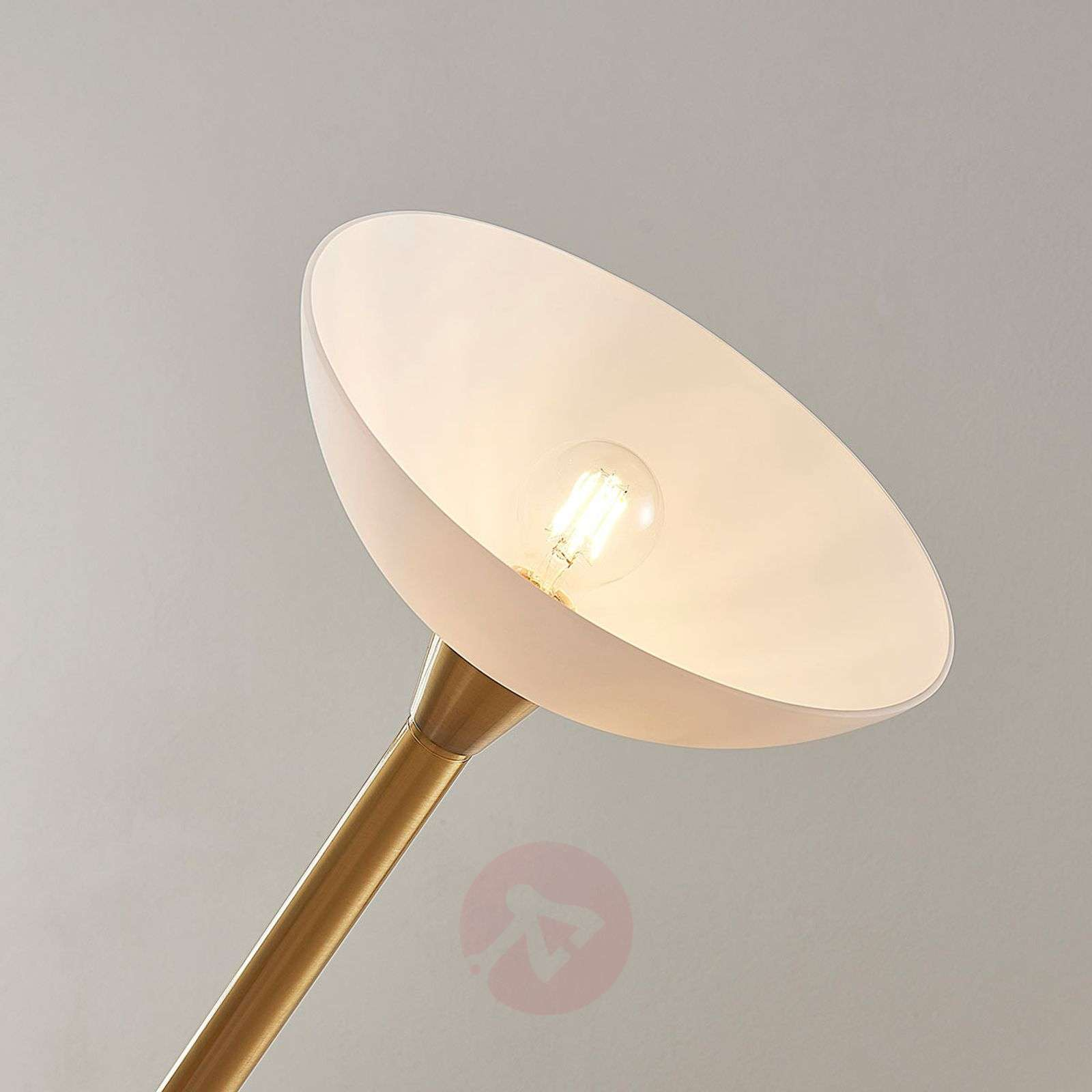 Brass-coloured LED uplighter Ignacia-9621679-02