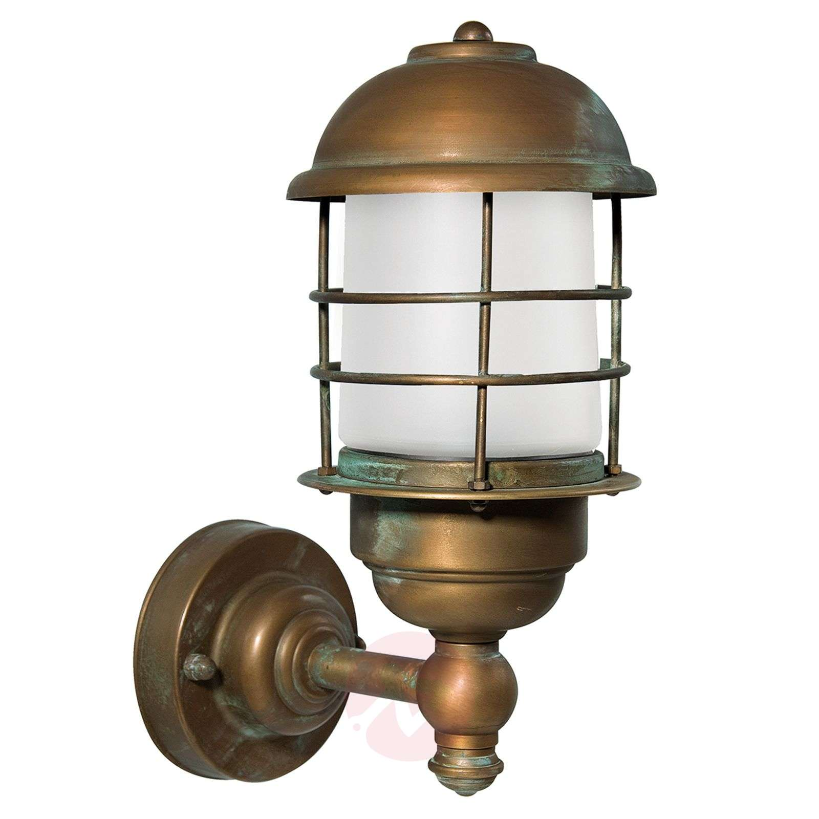 Brass outdoor wall lamp Amando, seawater-resistant-6515353-01