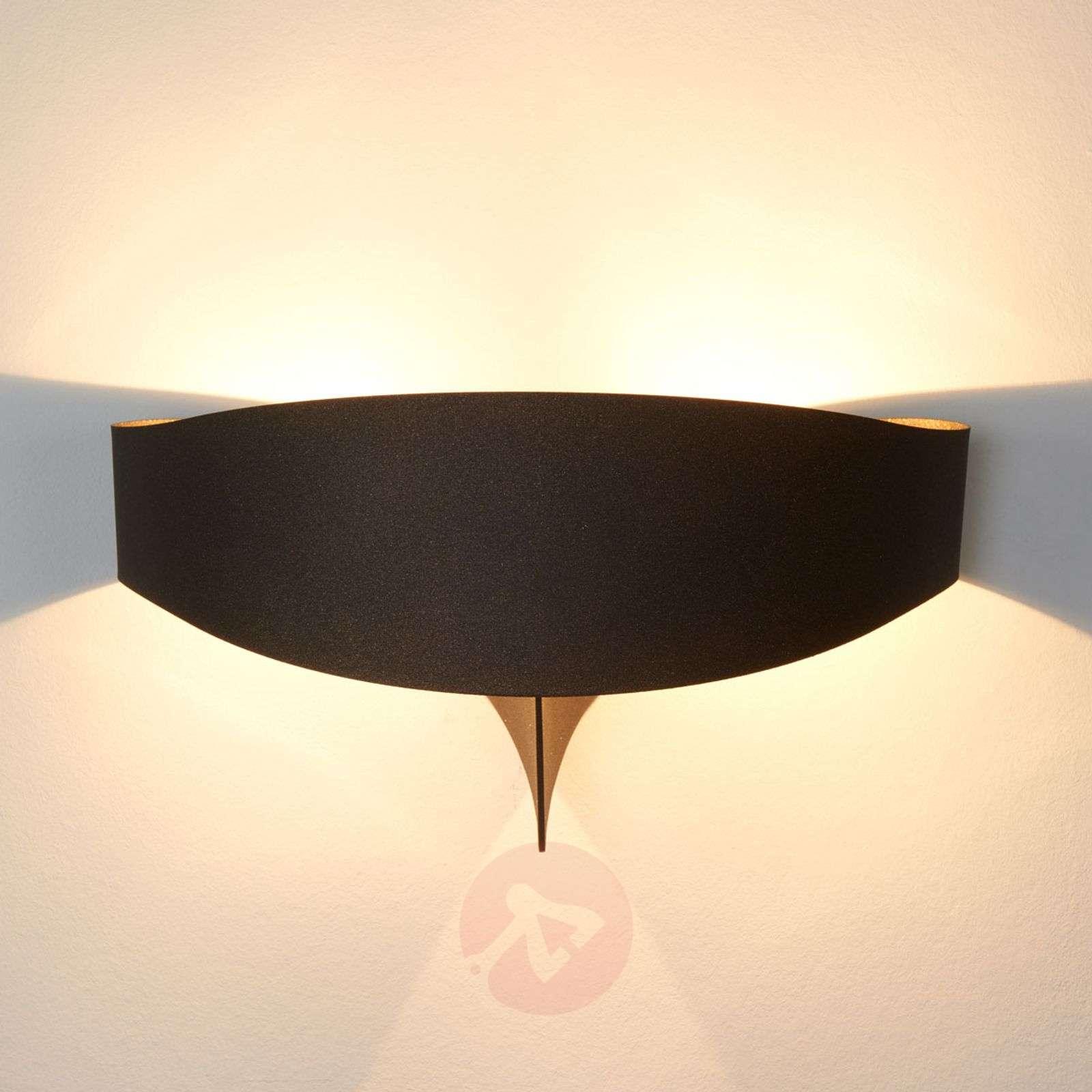 Bronze designer wall light Scudo-8525695-01