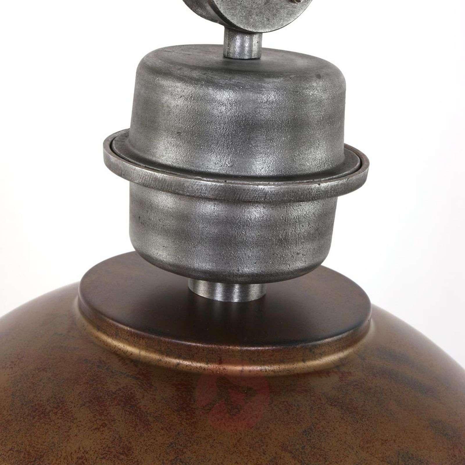 Brown hanging light Bikkel XXL, industrial design-8509750-01