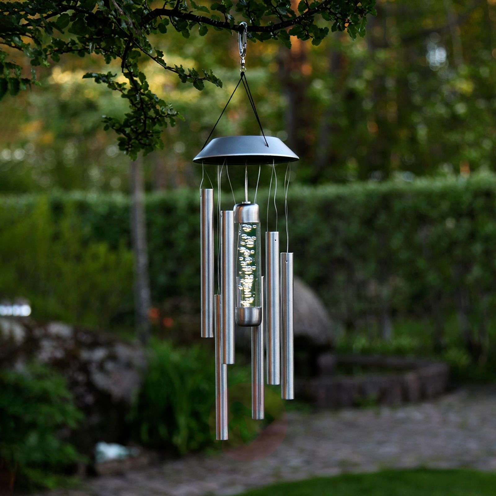 Bubbly decorative wind chime with lighting-1523085-01