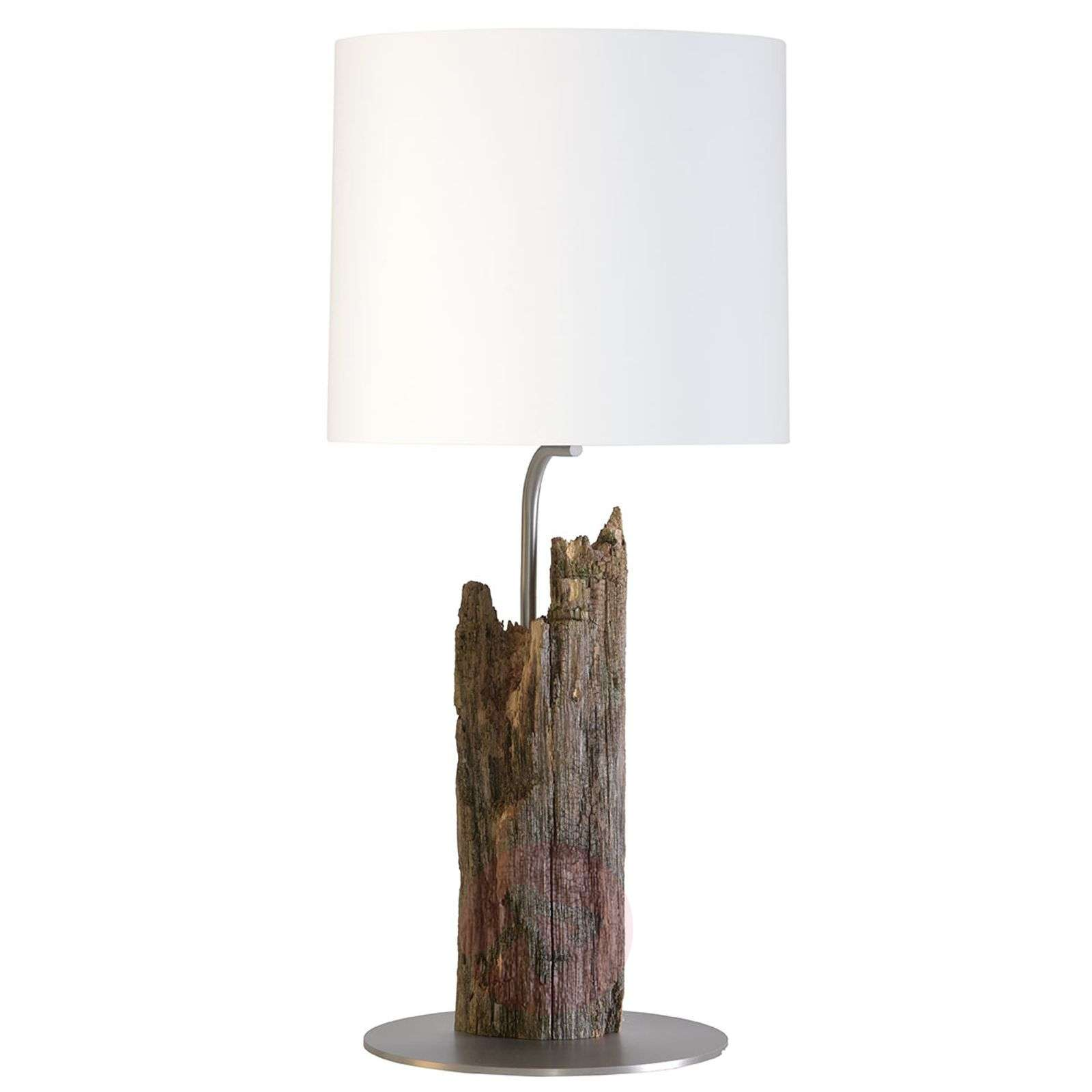 Buffet lamp Alter Kavalier with a fence post base-4543017-03