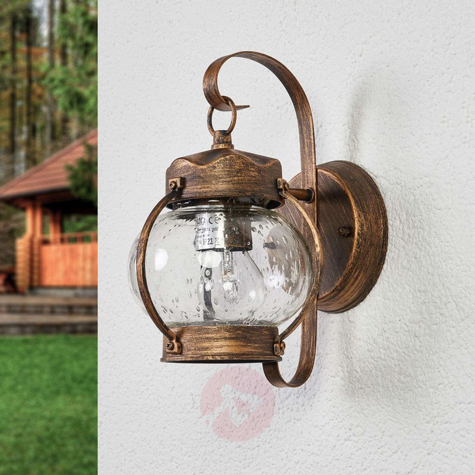 Bulbous Outdoor wall light Marguerite-7255094-01