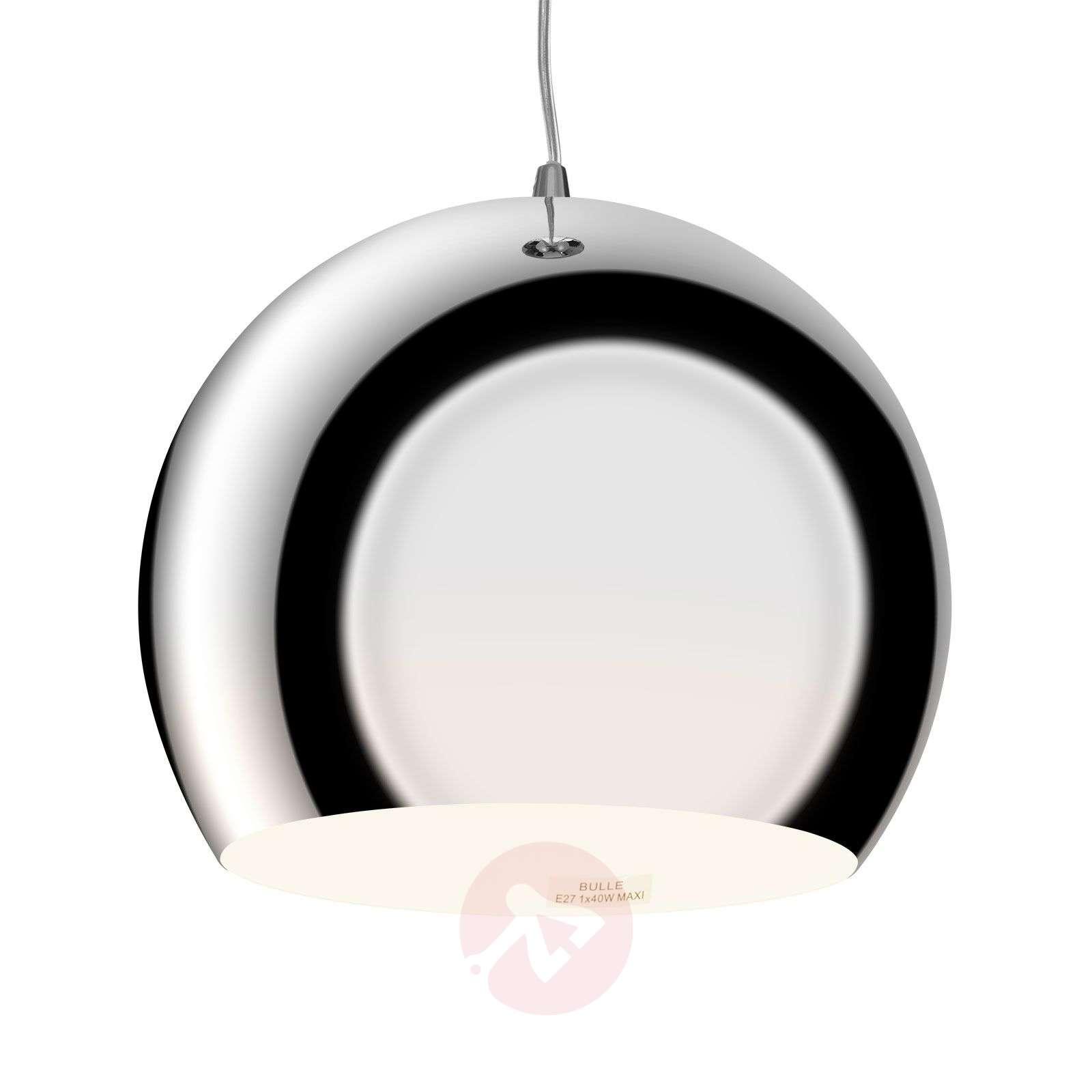 Bulle hanging light, chrome-1065018-01