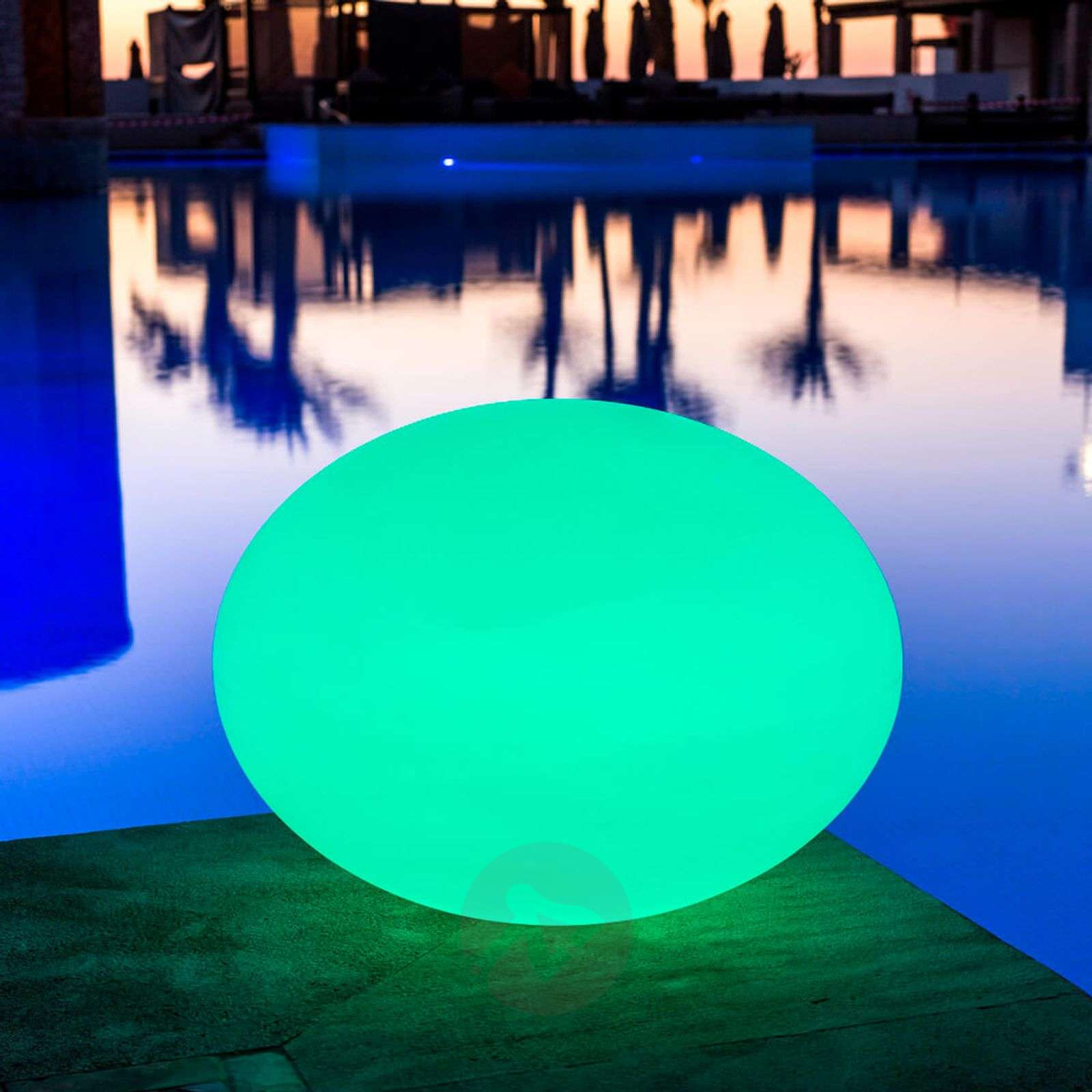 Buoyant LED decorative light Flatball L-8590013-01