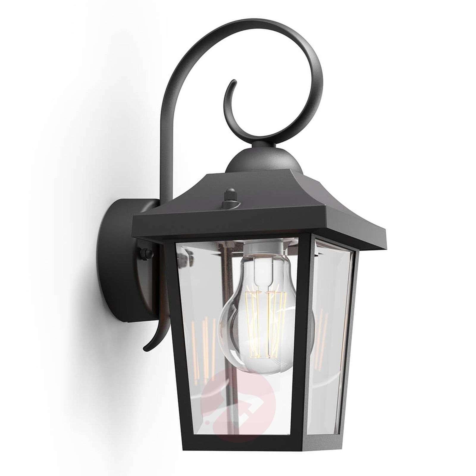 Buzzard myGarden black outdoor wall lamp-7531955-01