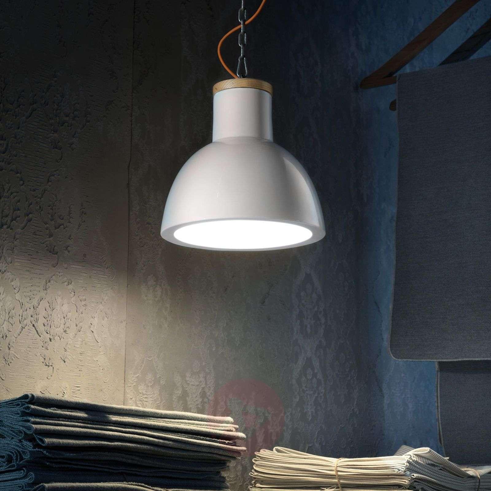 C1781 Scandinavian Style Hanging Light White