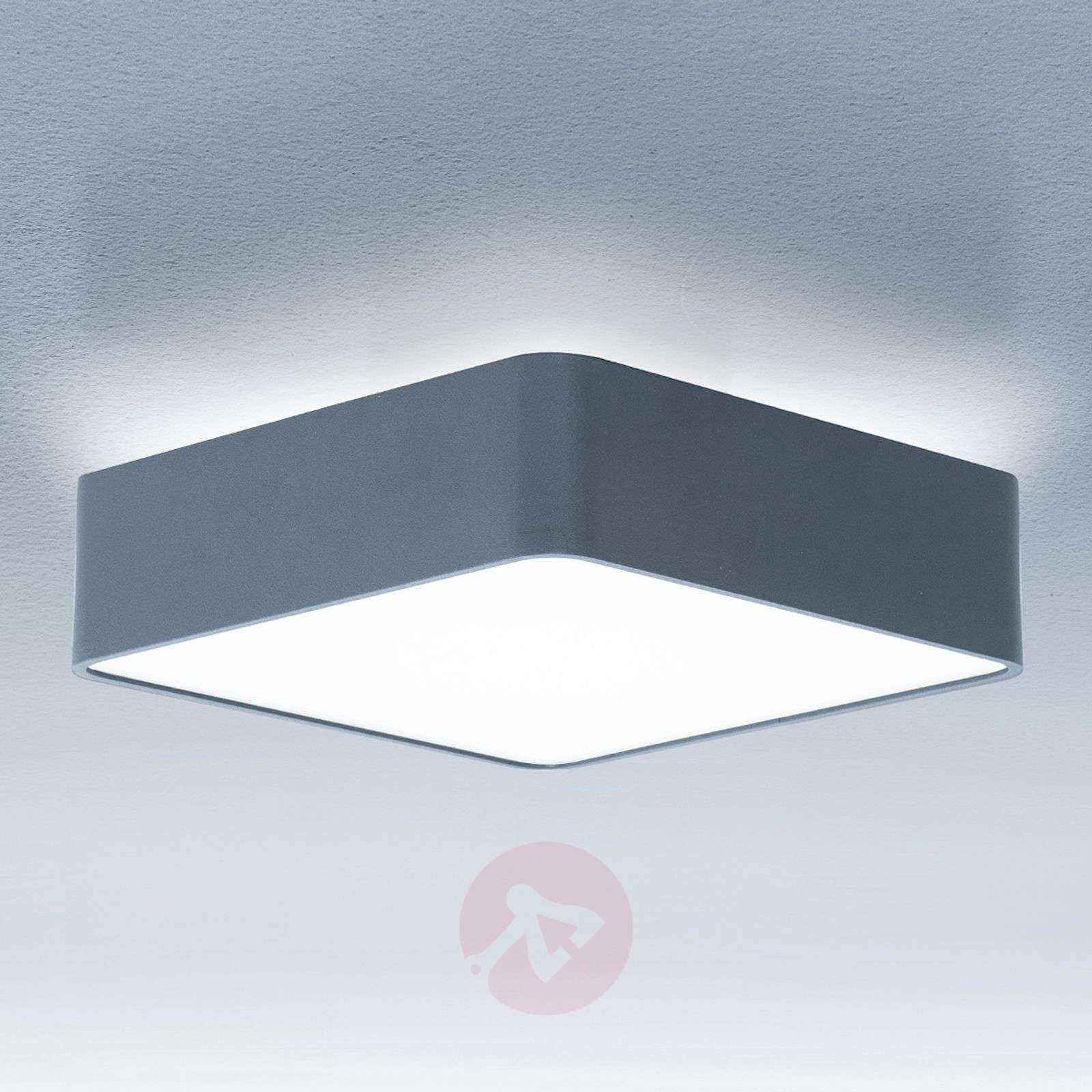 Caleo-X2 square LED ceiling light cool white-6033494X-01