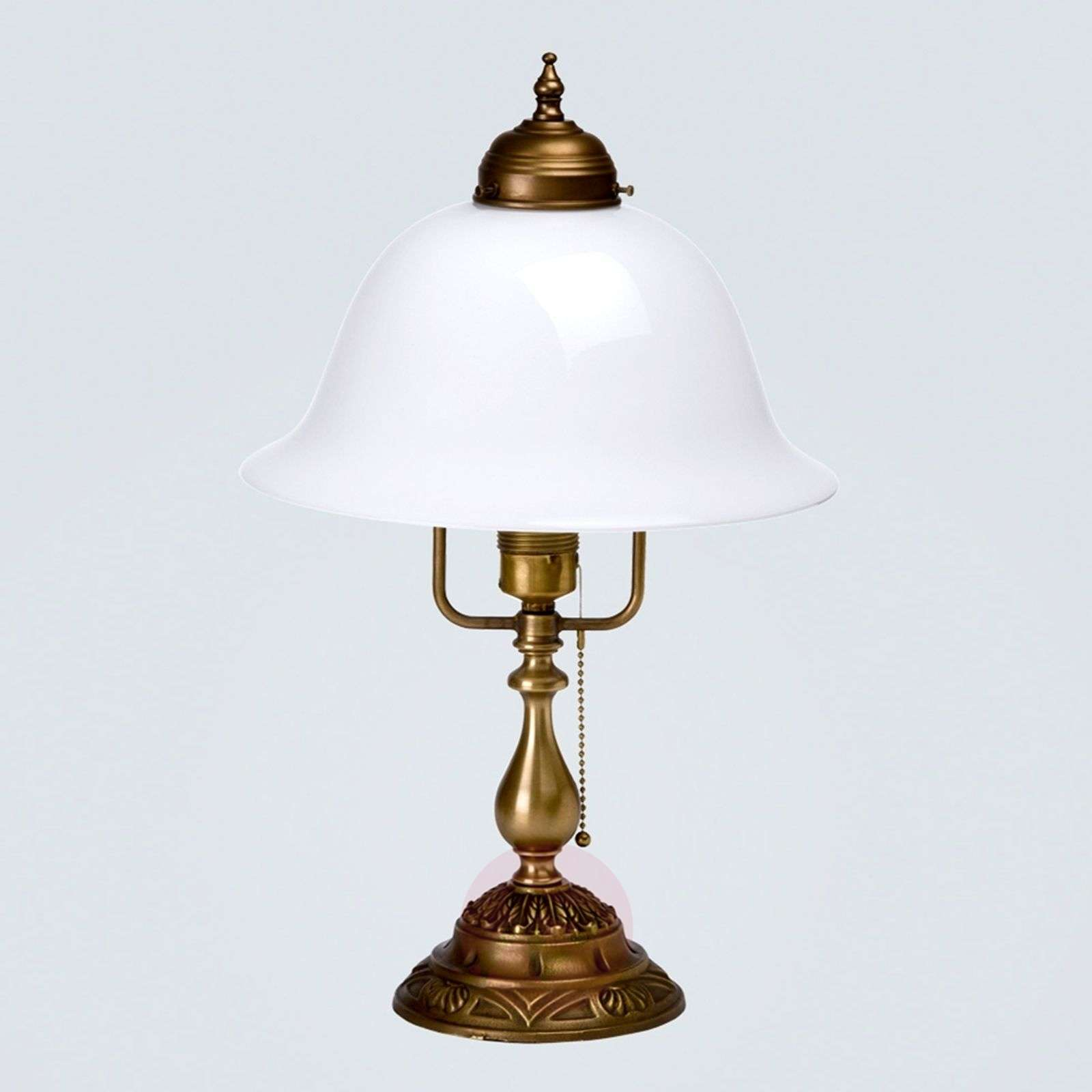 Carolin embellished table lamp made of brass-1542050-01