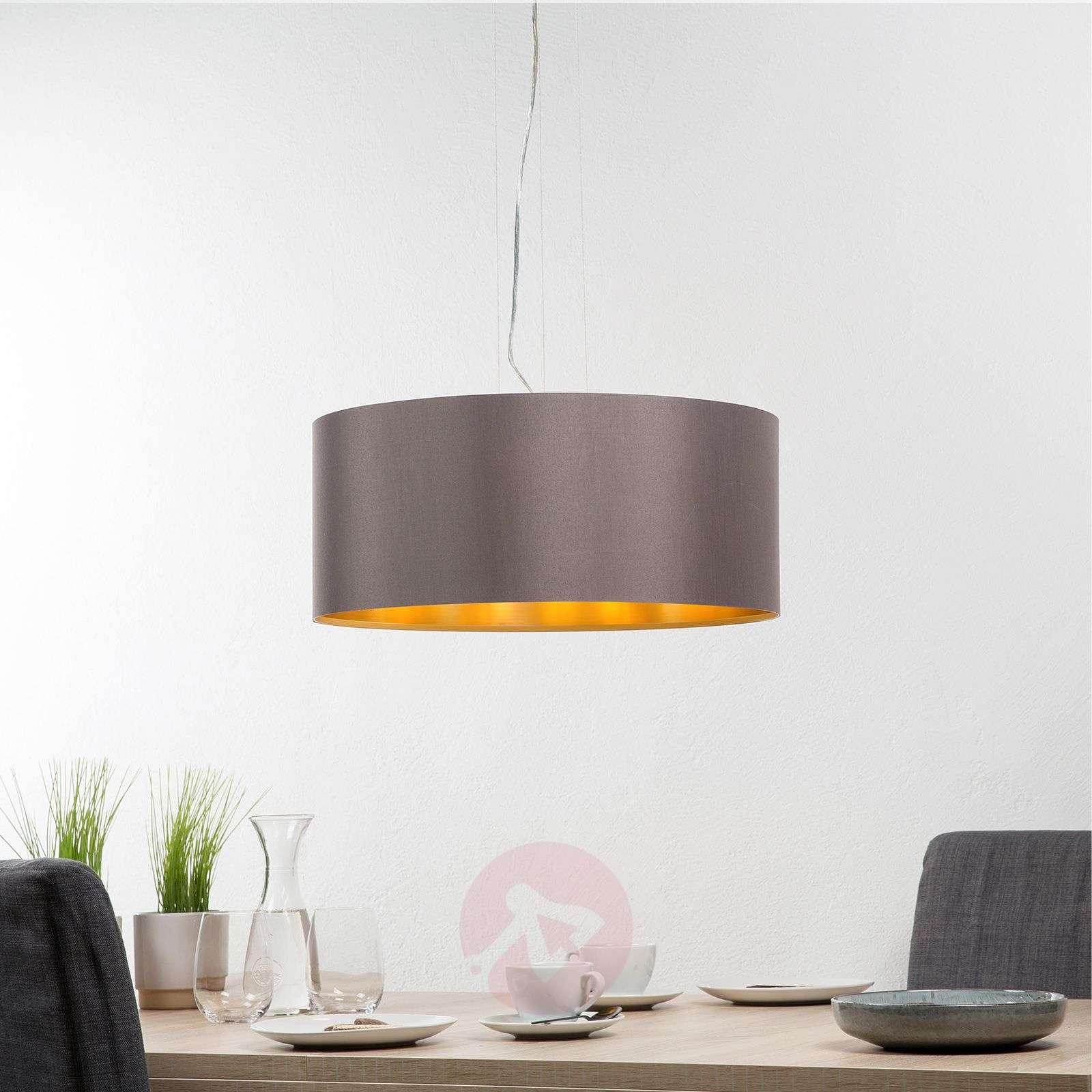 Carpi round fabric hanging light-3031702-02