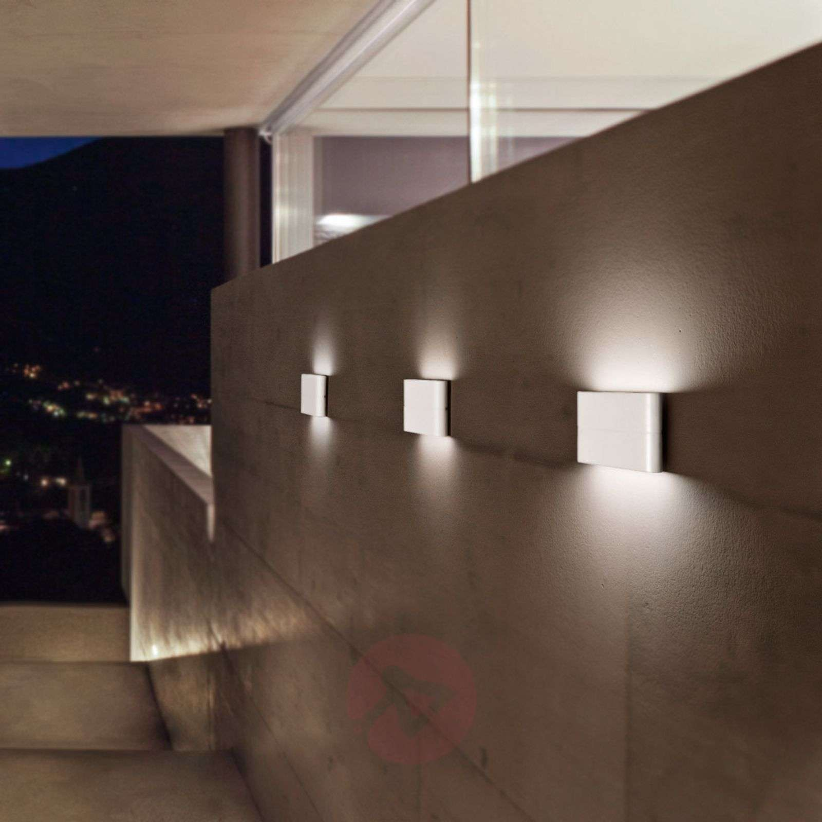 Casper white LED wall light for outdoor use-3502518-01