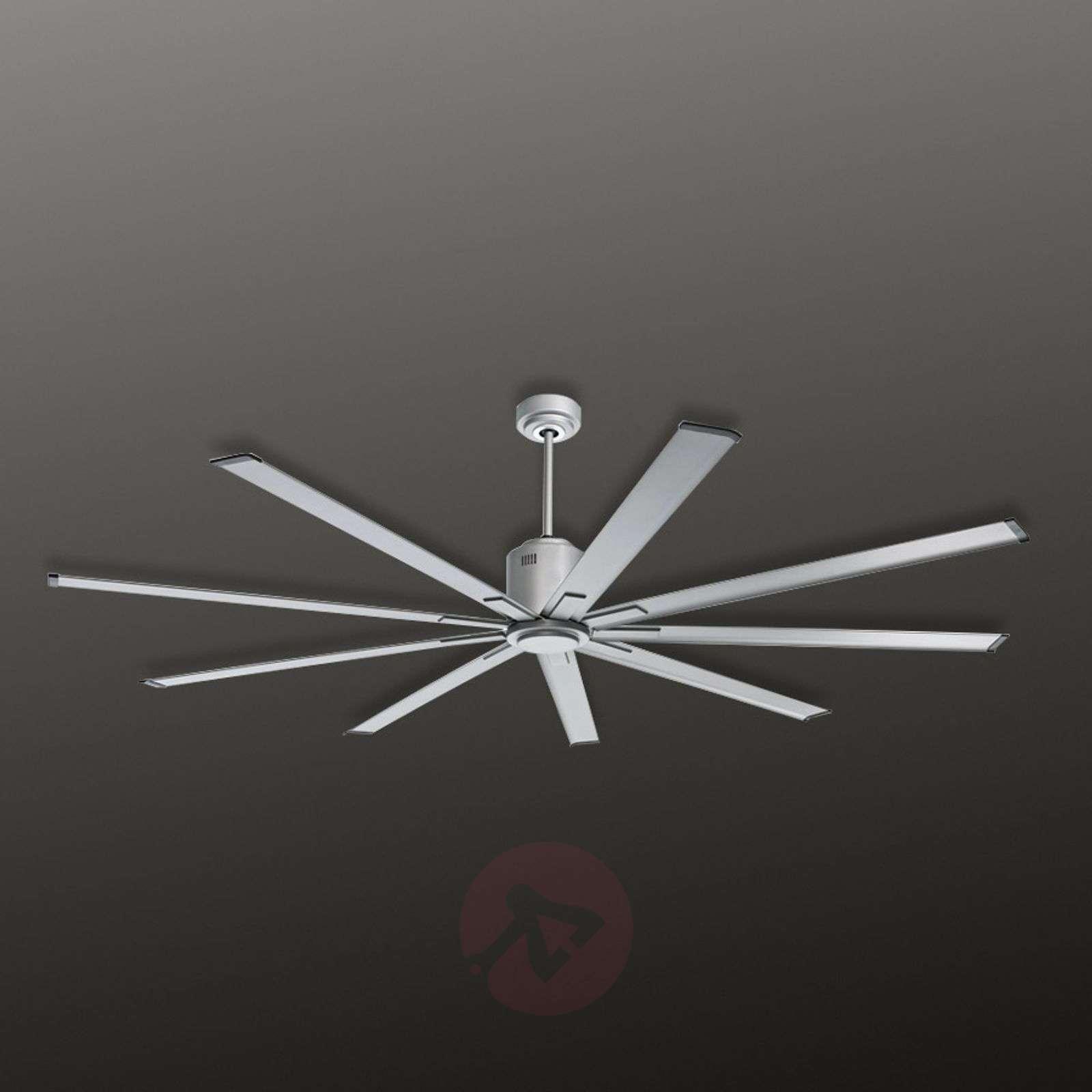 Ceiling fan Big Smooth Eco 220cm, titanium silver-2015069-01