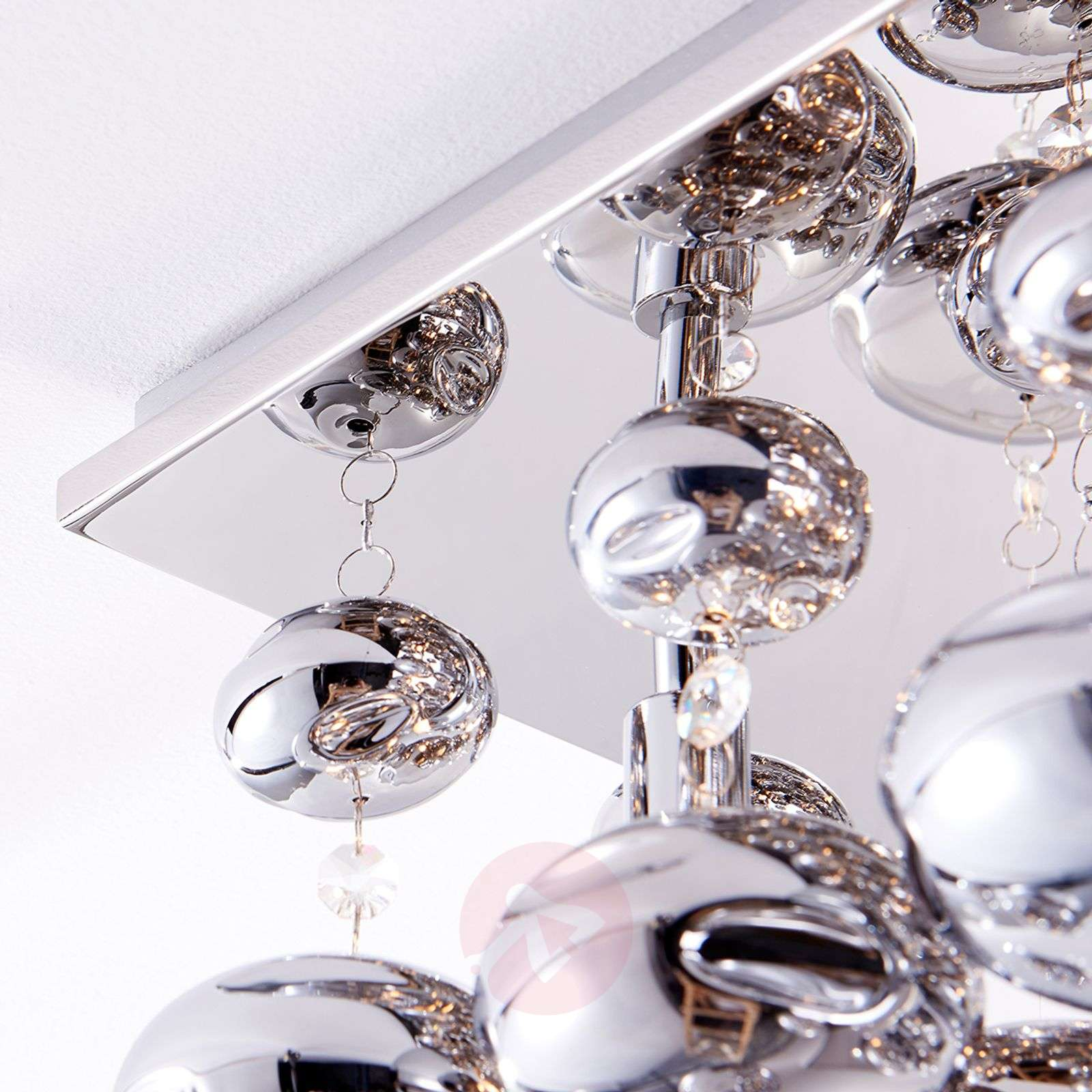 Ceiling light Esfera hung with glass balls-9620909-010