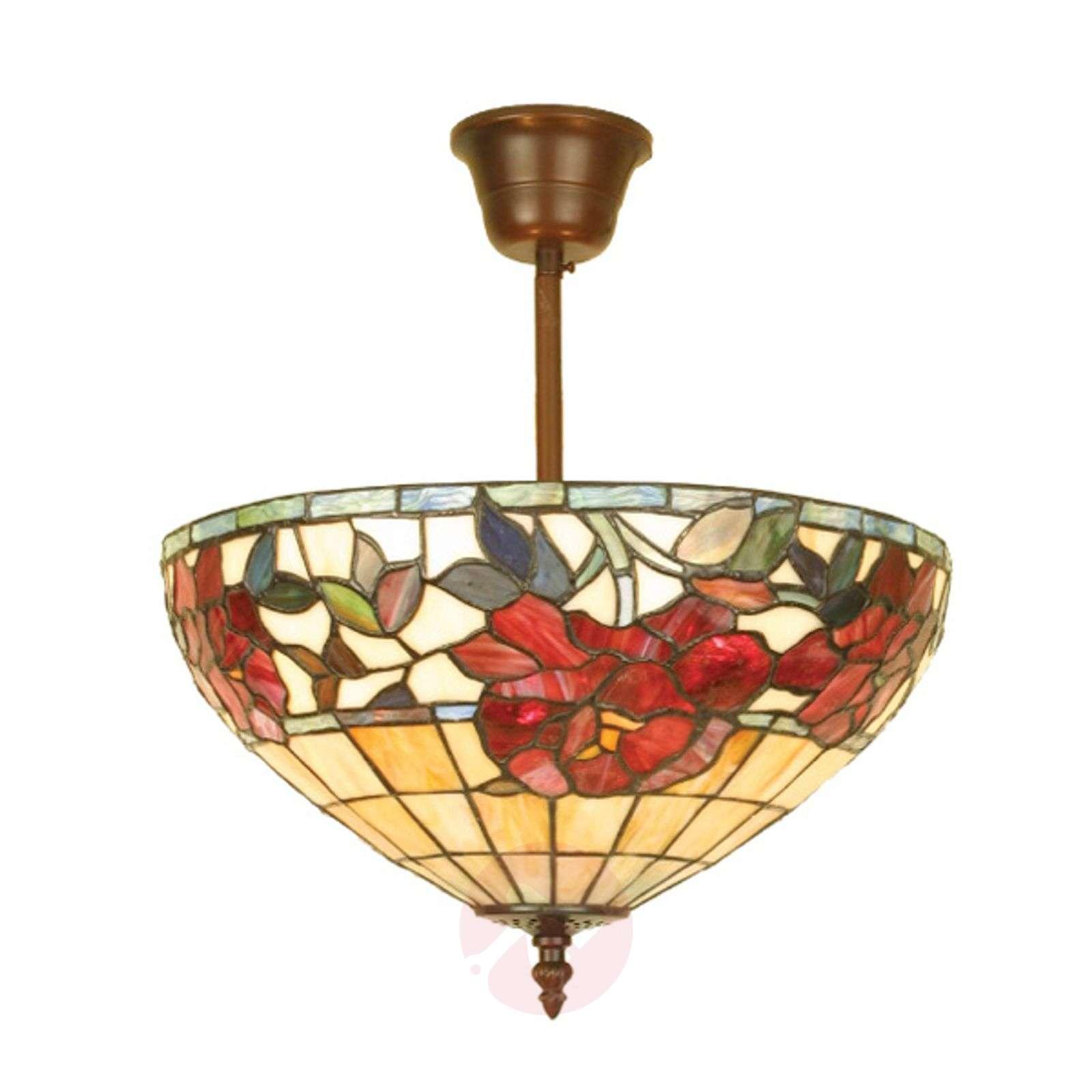 Ceiling light Finna, Tiffany-style-1032177-01