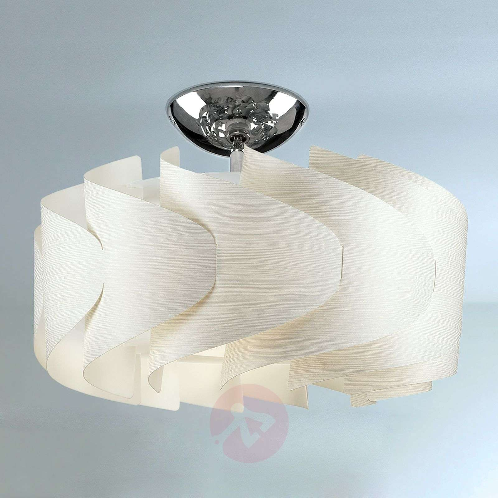 Ceiling light Sky Mini Ellix with a wooden finish-1056080-01