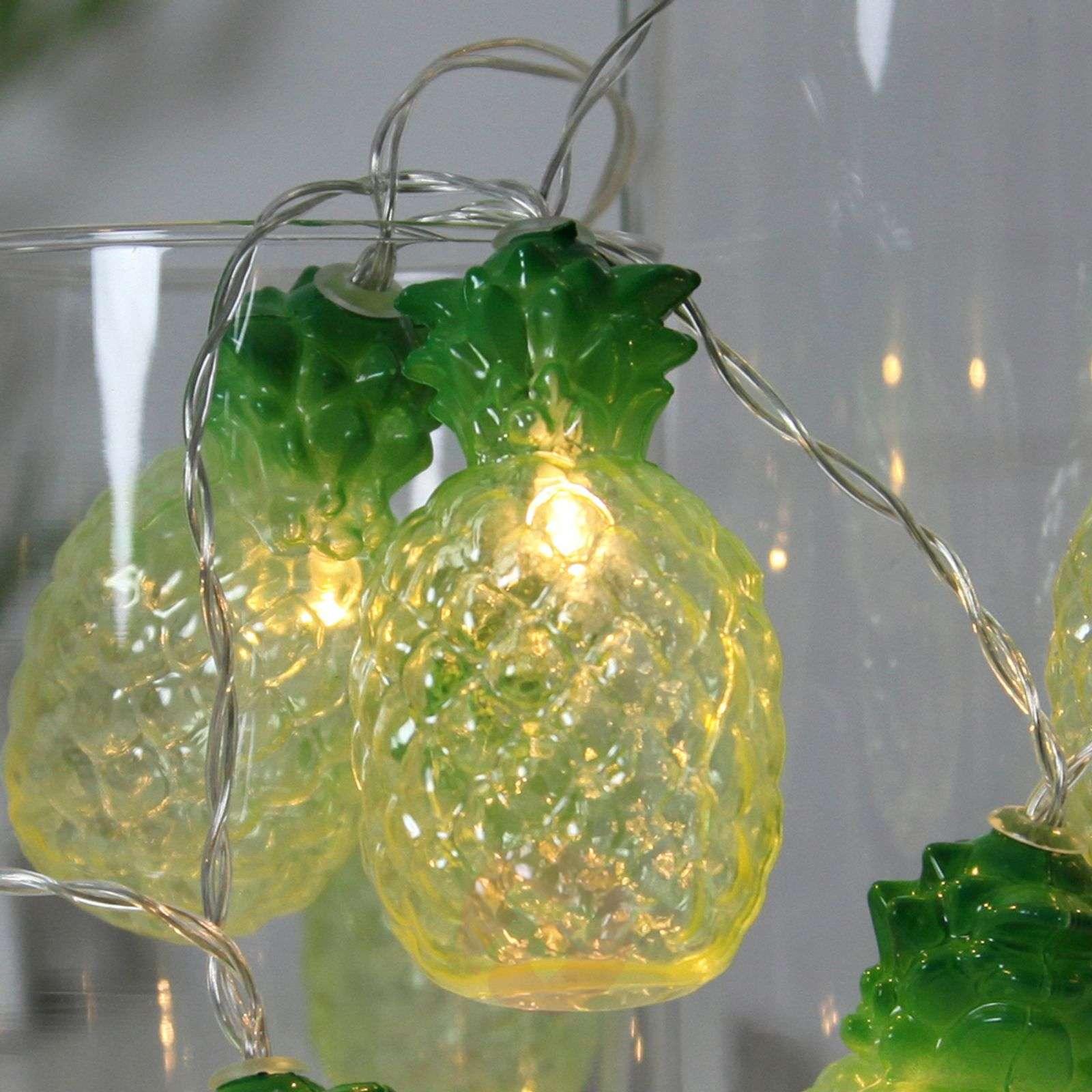 Charming LED string lights Pineapple, 10-bulb-1523003-01