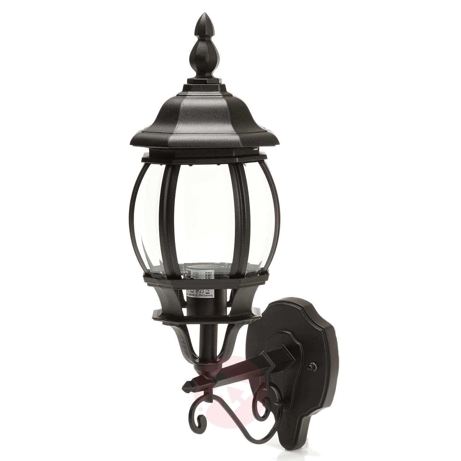 Charming outdoor wall light Istria I black-1507100-01
