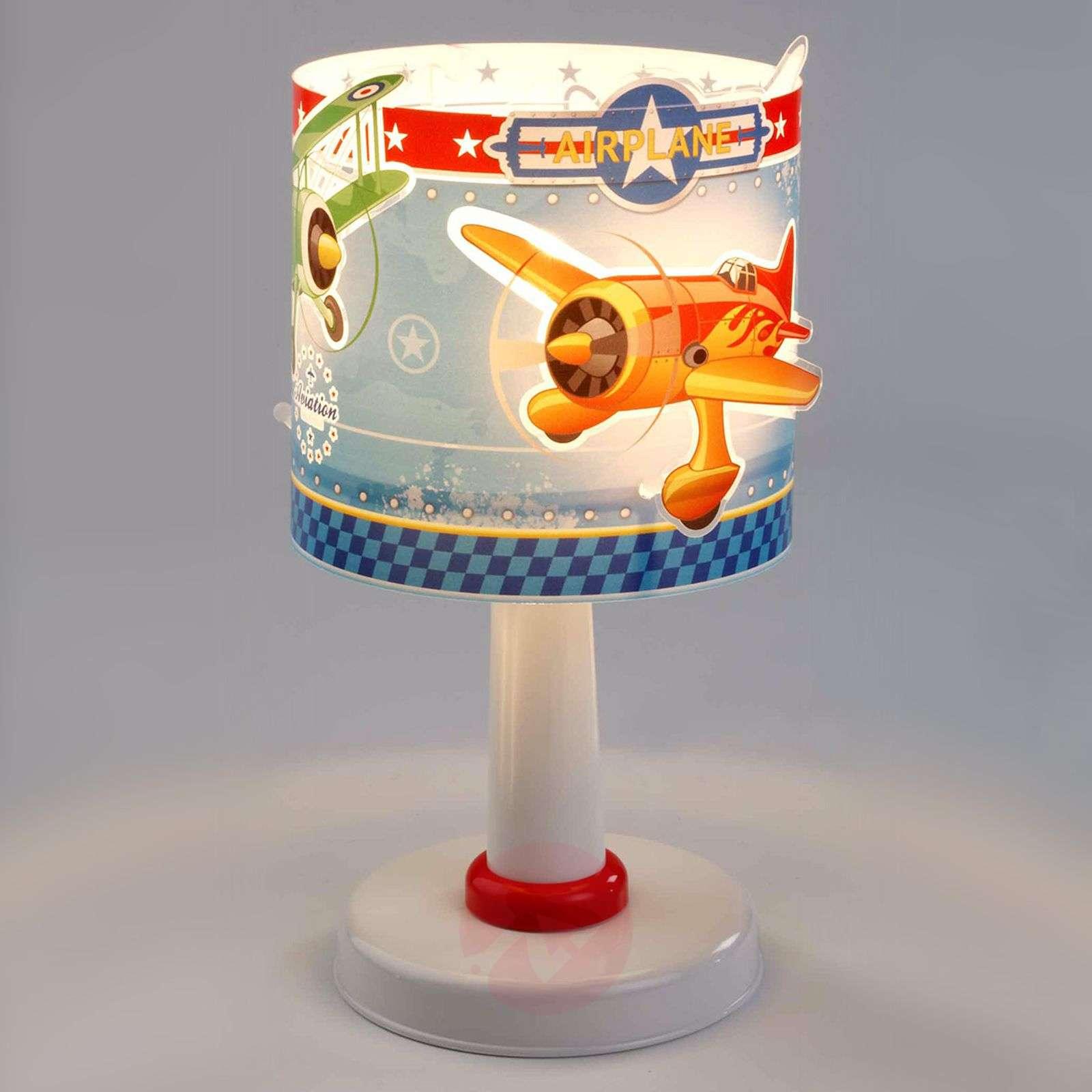 Childrens night stand lamp Airplane-2507287-01