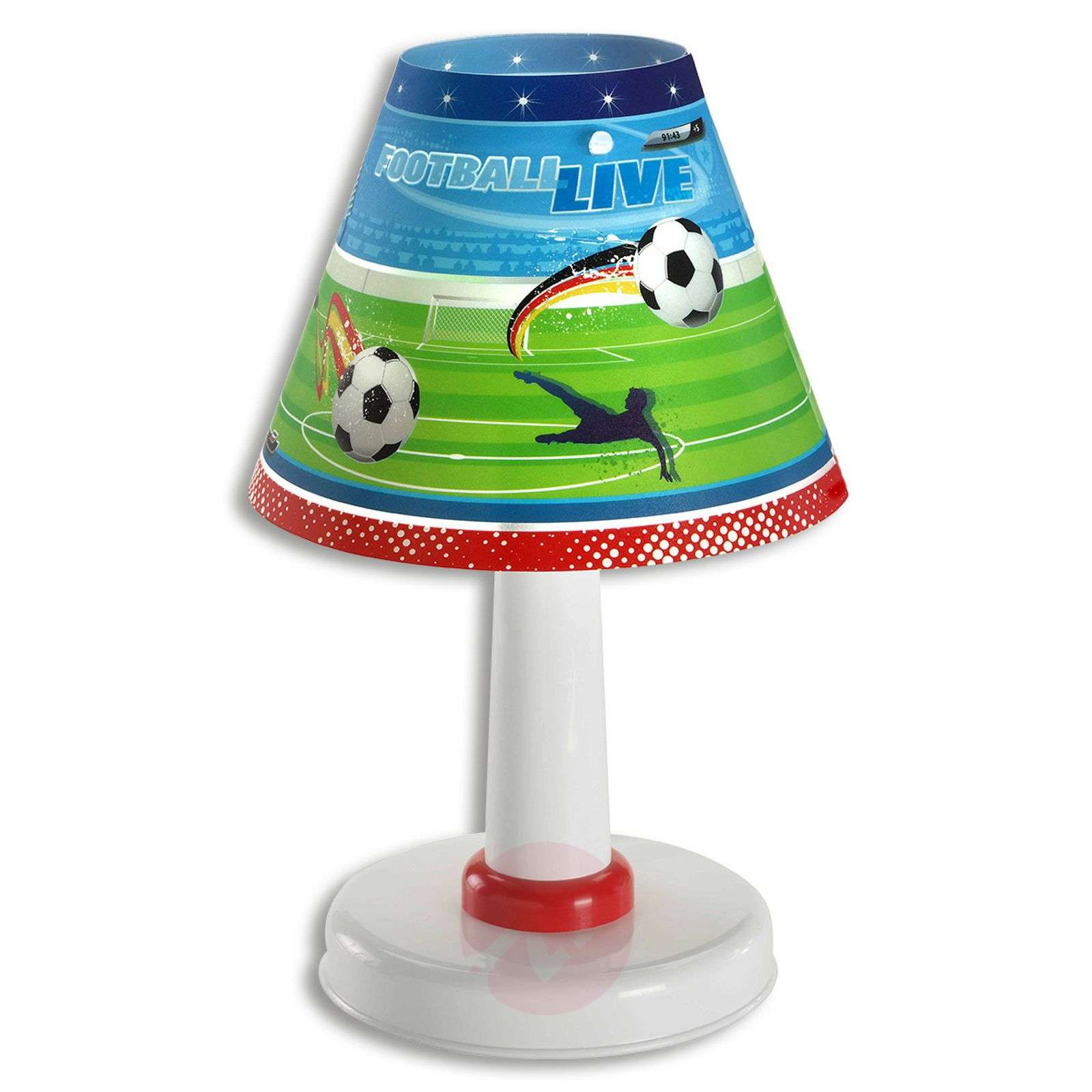 Childrens room table lamp Football-2507276-01