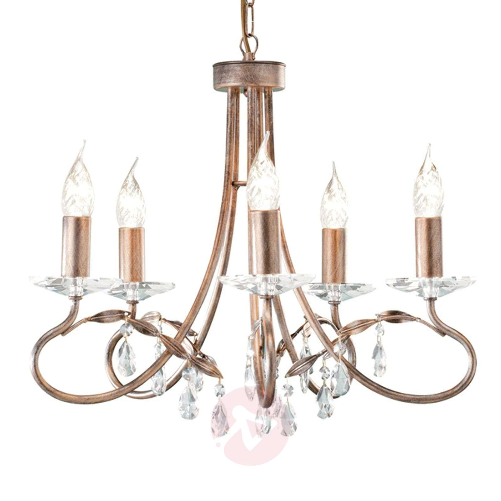 Christina Chandelier Silver / Gold-3048001X-01