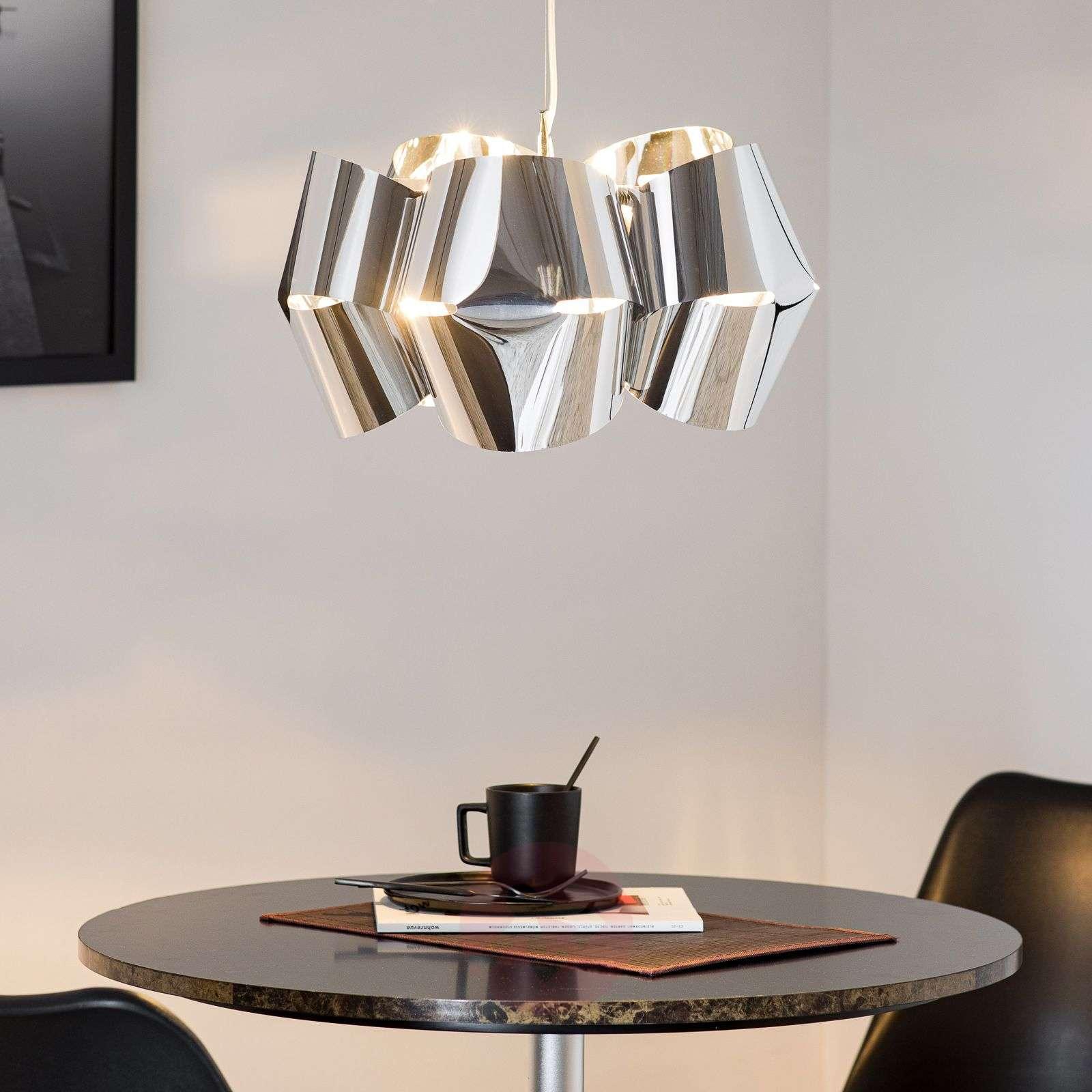 Chrome-plated hanging light Mini Alien-1056068-01