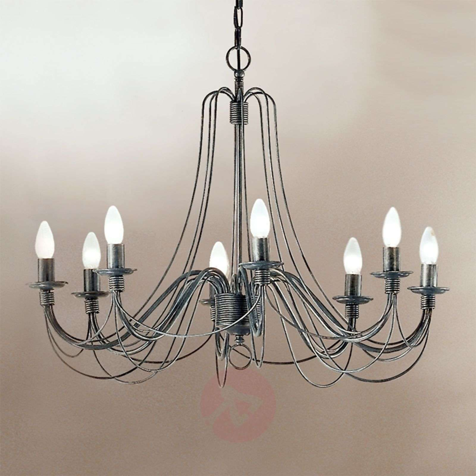 Clara chandelier country house style eight bulbs lights clara chandelier country house style eight bulbs 7253120 01 arubaitofo Images