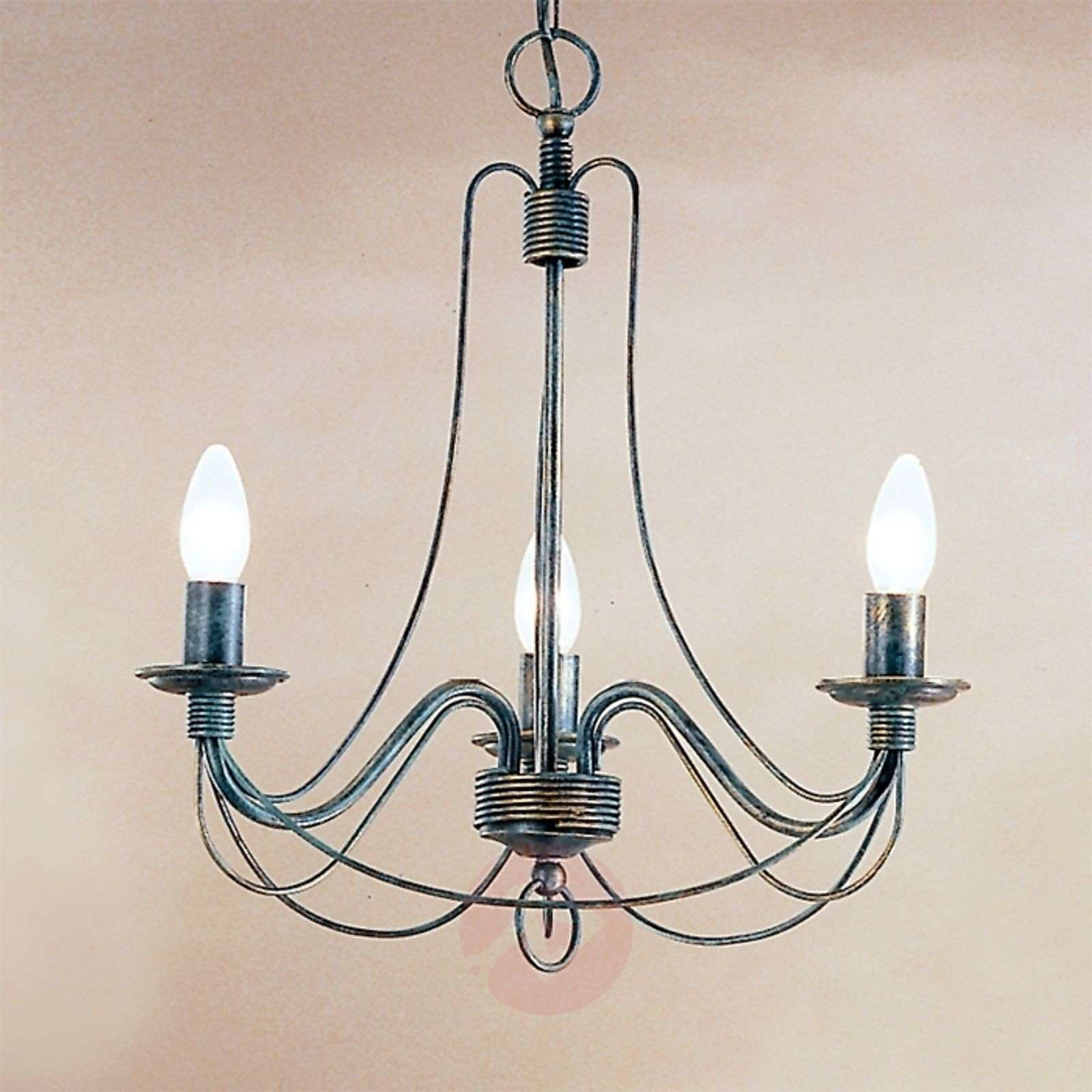 Clara Hanging Light Country House Style Three-Bulb-7253118-01