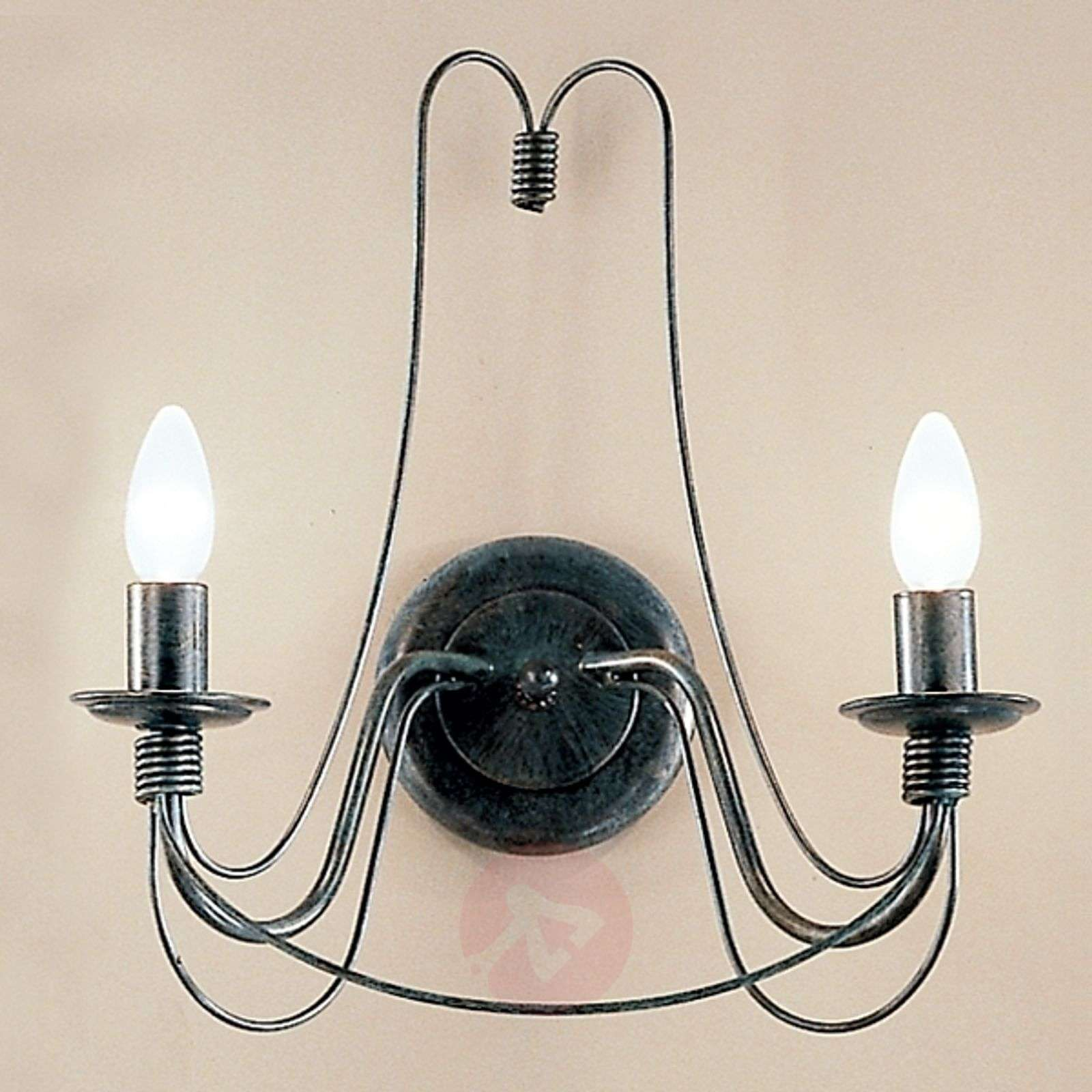 Clara Wall Light Country House Style Two-Bulb-7253121-01