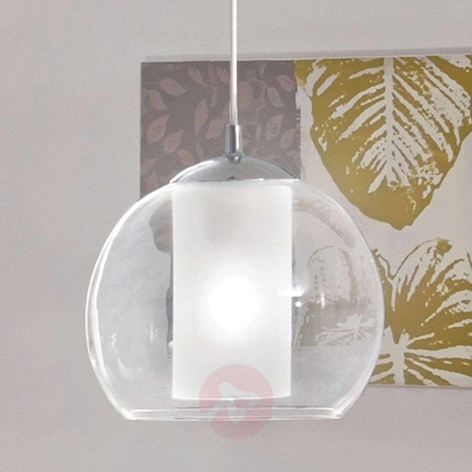 Classic Bolsano glass pendant light-3031643-01
