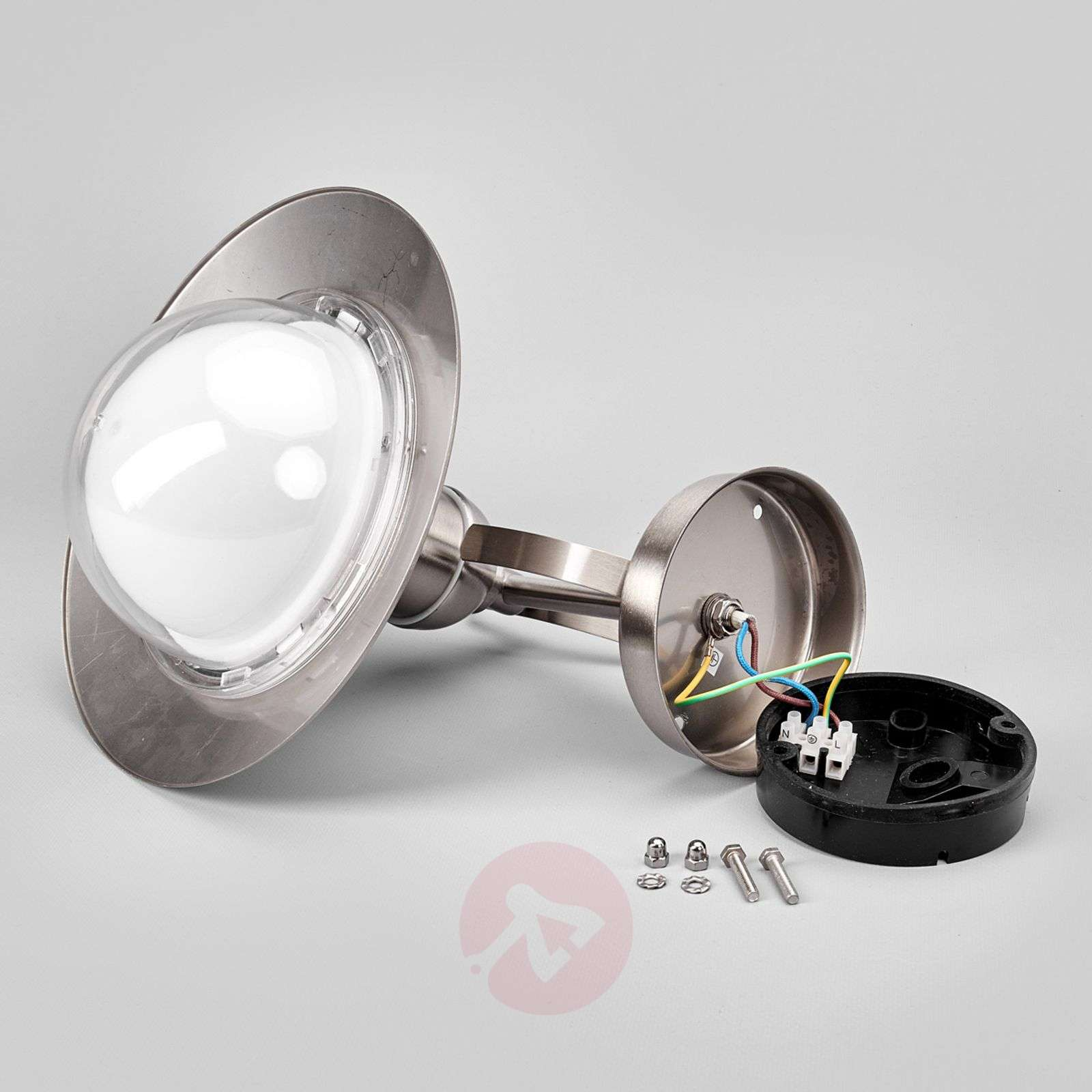 Clea stainless steel LED outdoor wall light-9960051-01