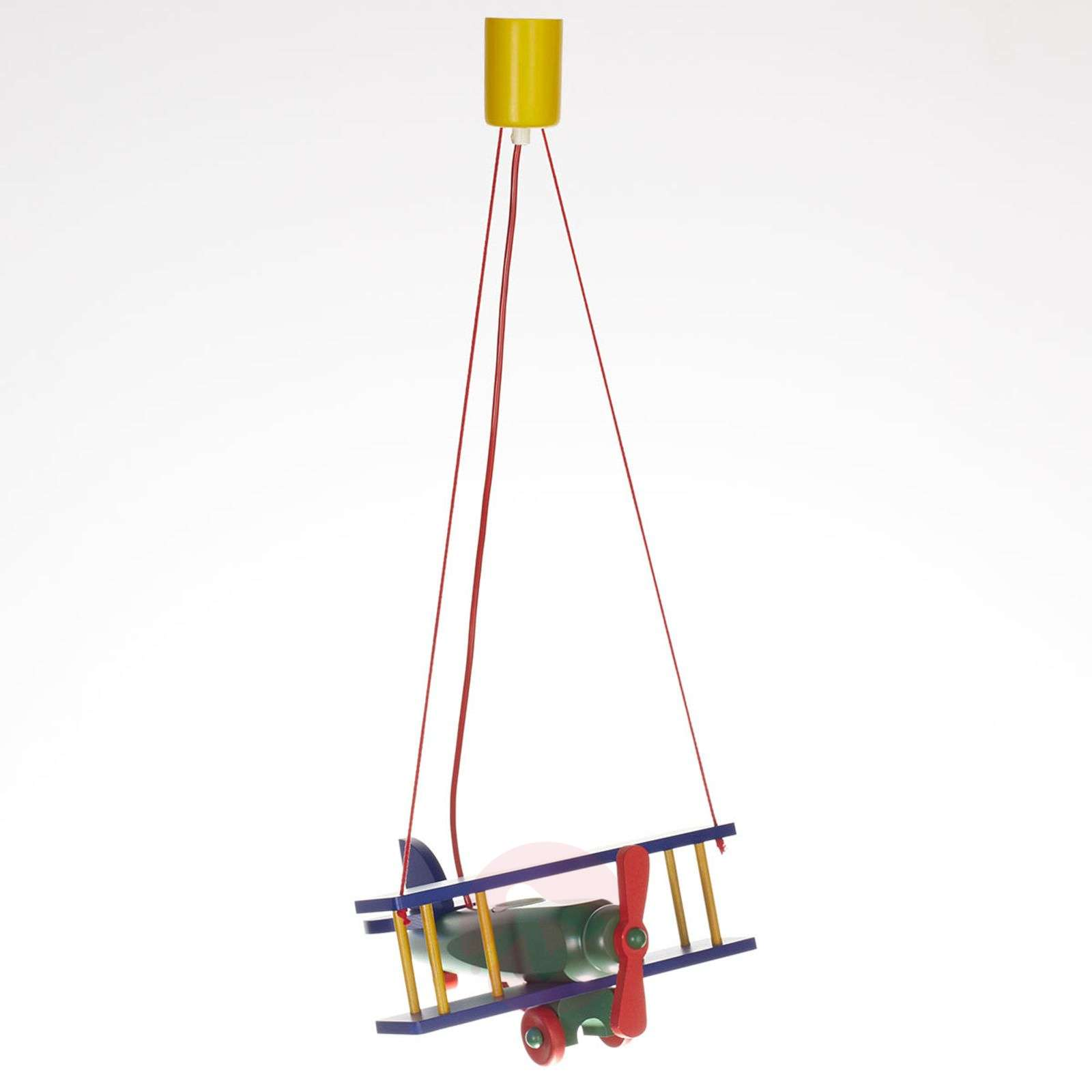 Colourful Aeroplane hanging light-9606221-01