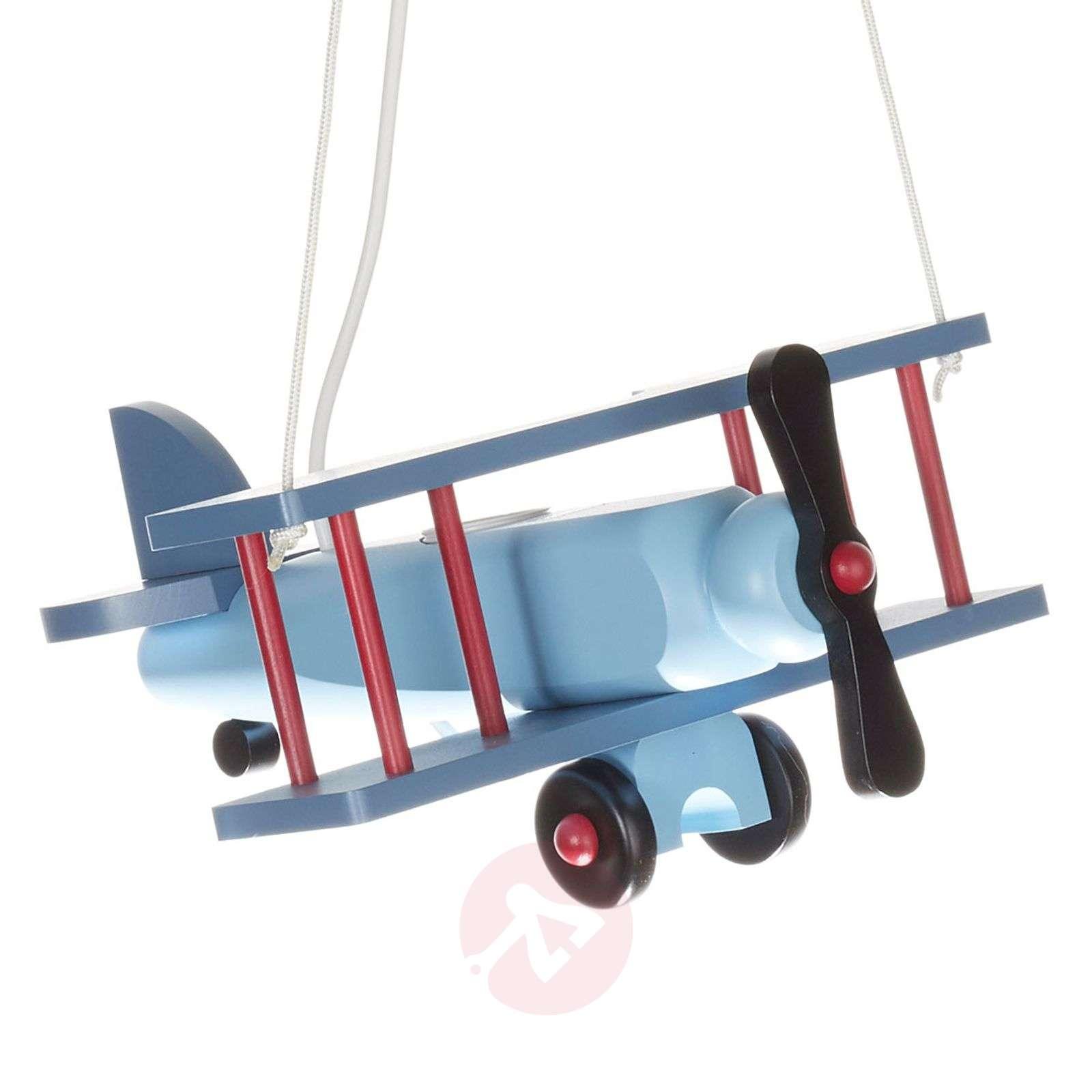 Colourful Aeroplane pendant light-9606119-01
