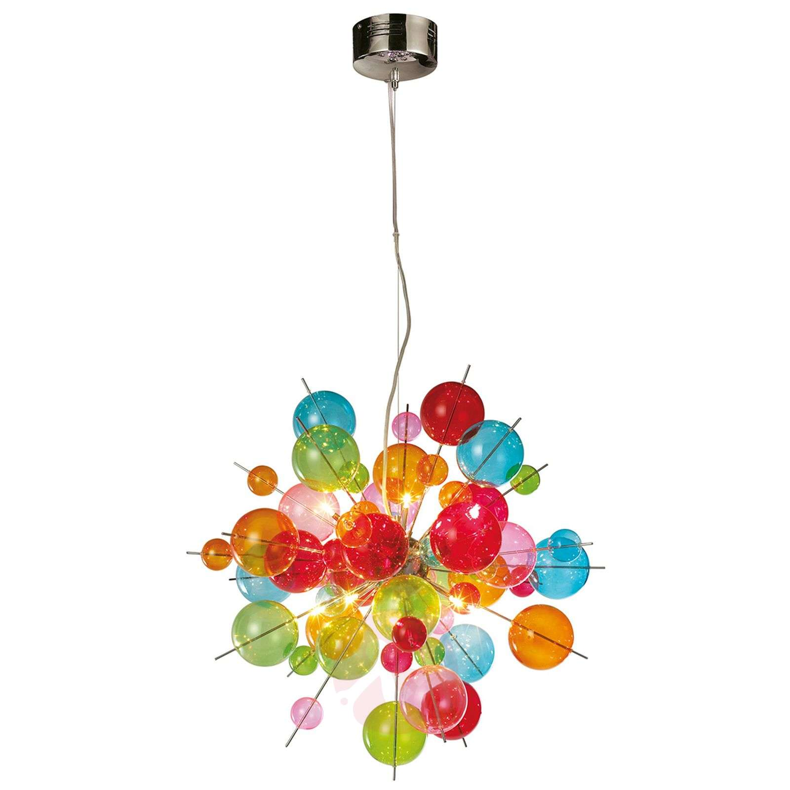Colourful glass pendant light Aurinia-7000771-01