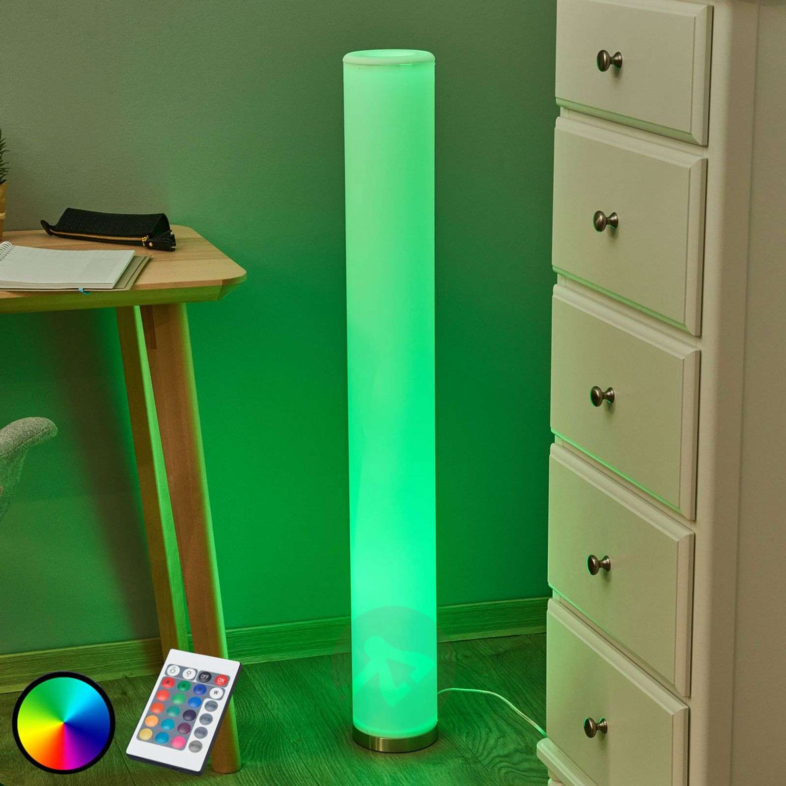 Colourful LED floor lamp Mirella, RGB-9945216-02
