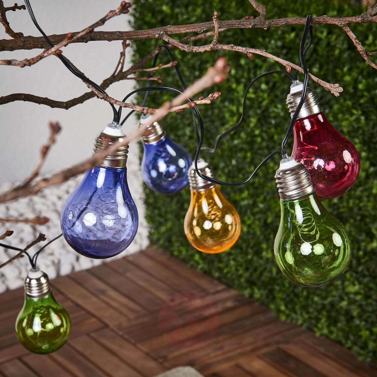 Colourful solar string lights Glow with LEDs-1523092-01