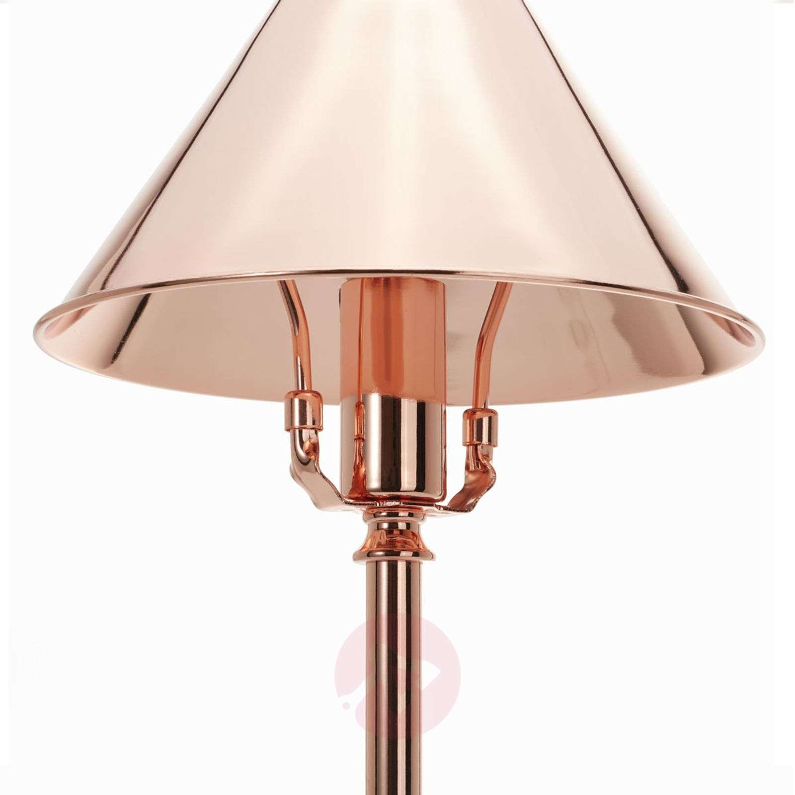 Compact Provence table lamp in copper-3048445-01