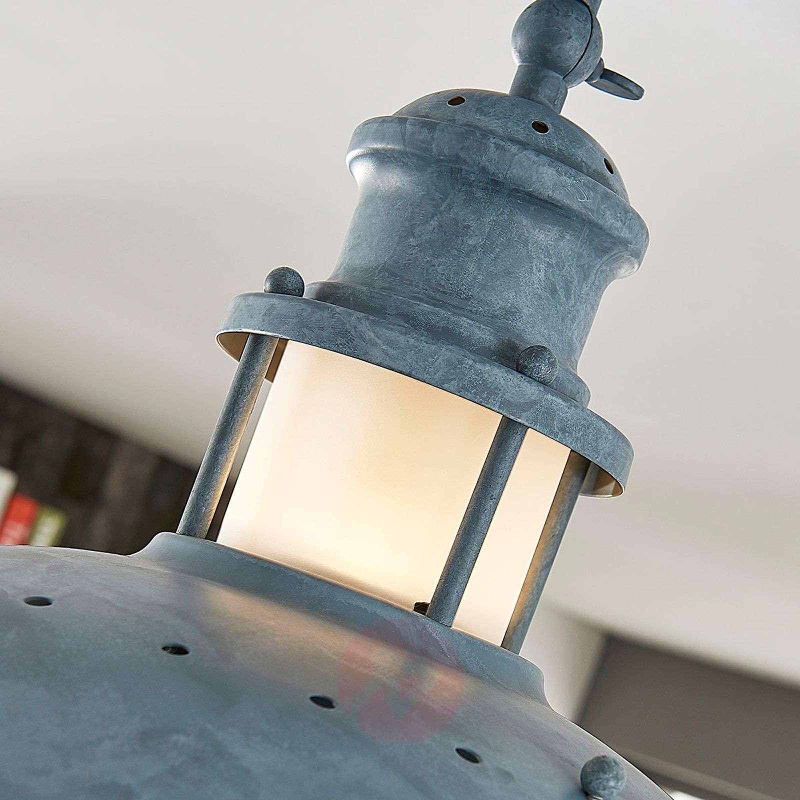 Concrete grey ceiling lamp Louisanne-9621438-02