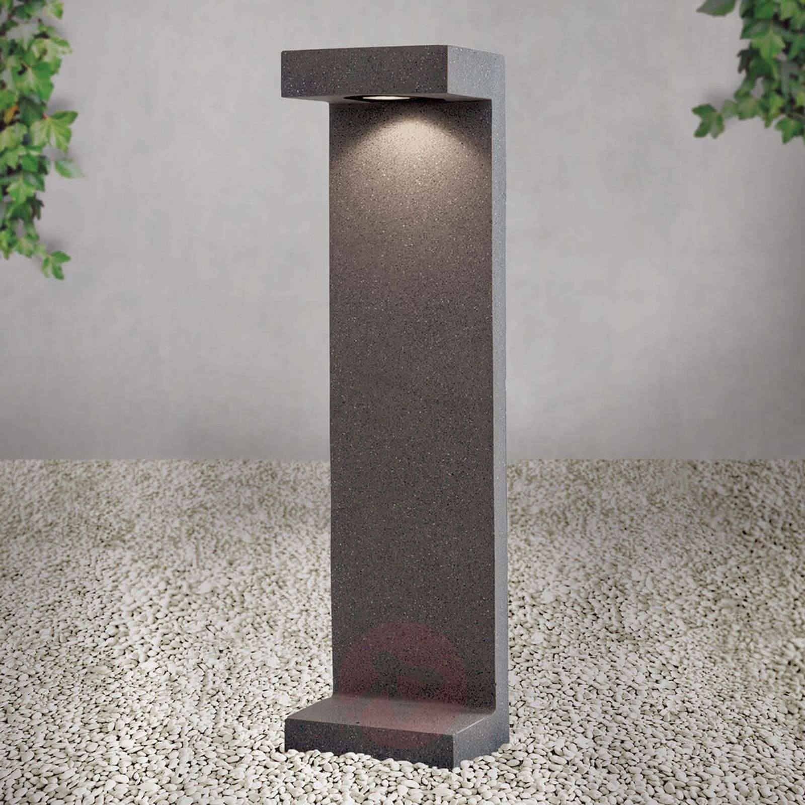 Concrete path light Sandro with LEDs IP65-7255340-01