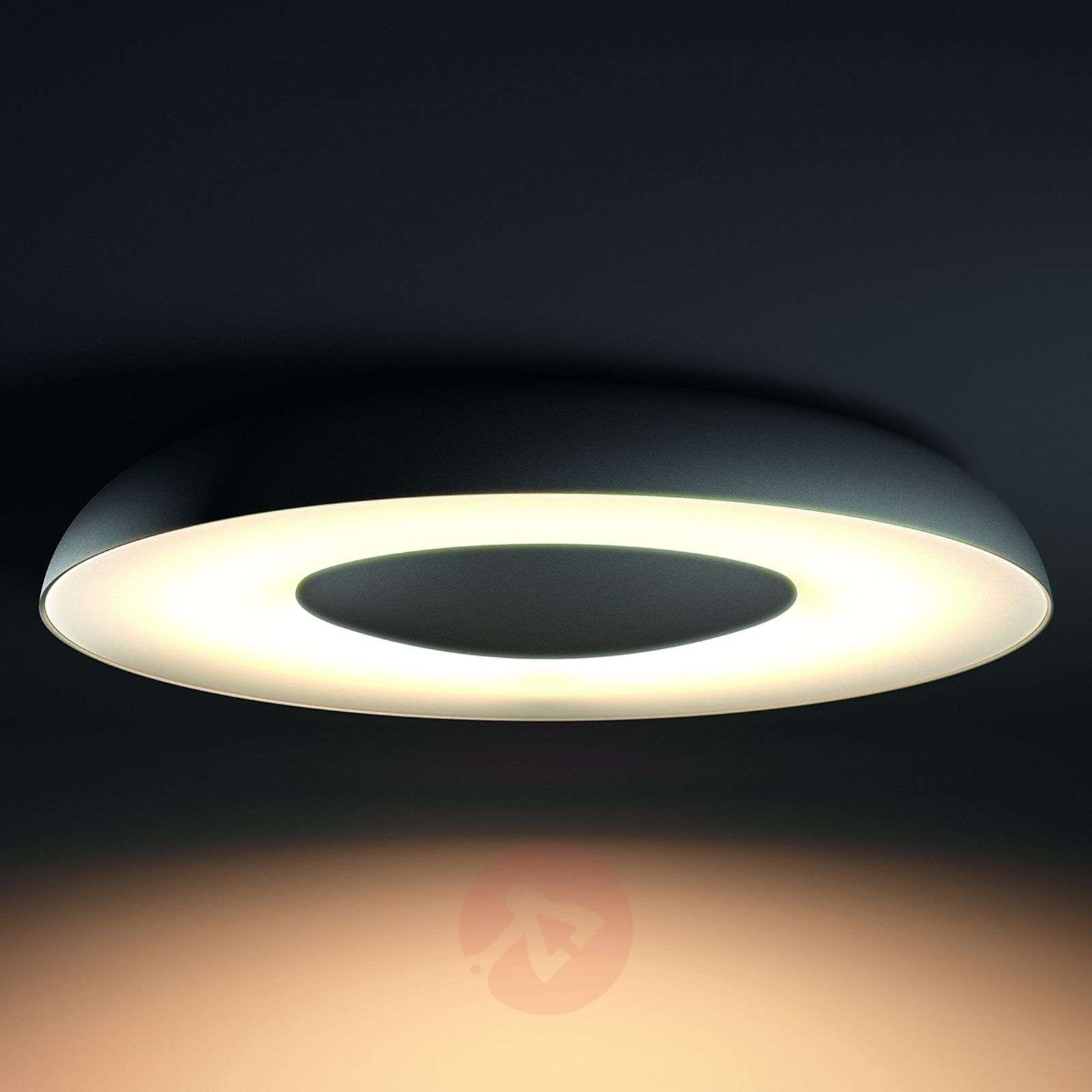 controllable led ceiling lamp still philips hue. Black Bedroom Furniture Sets. Home Design Ideas