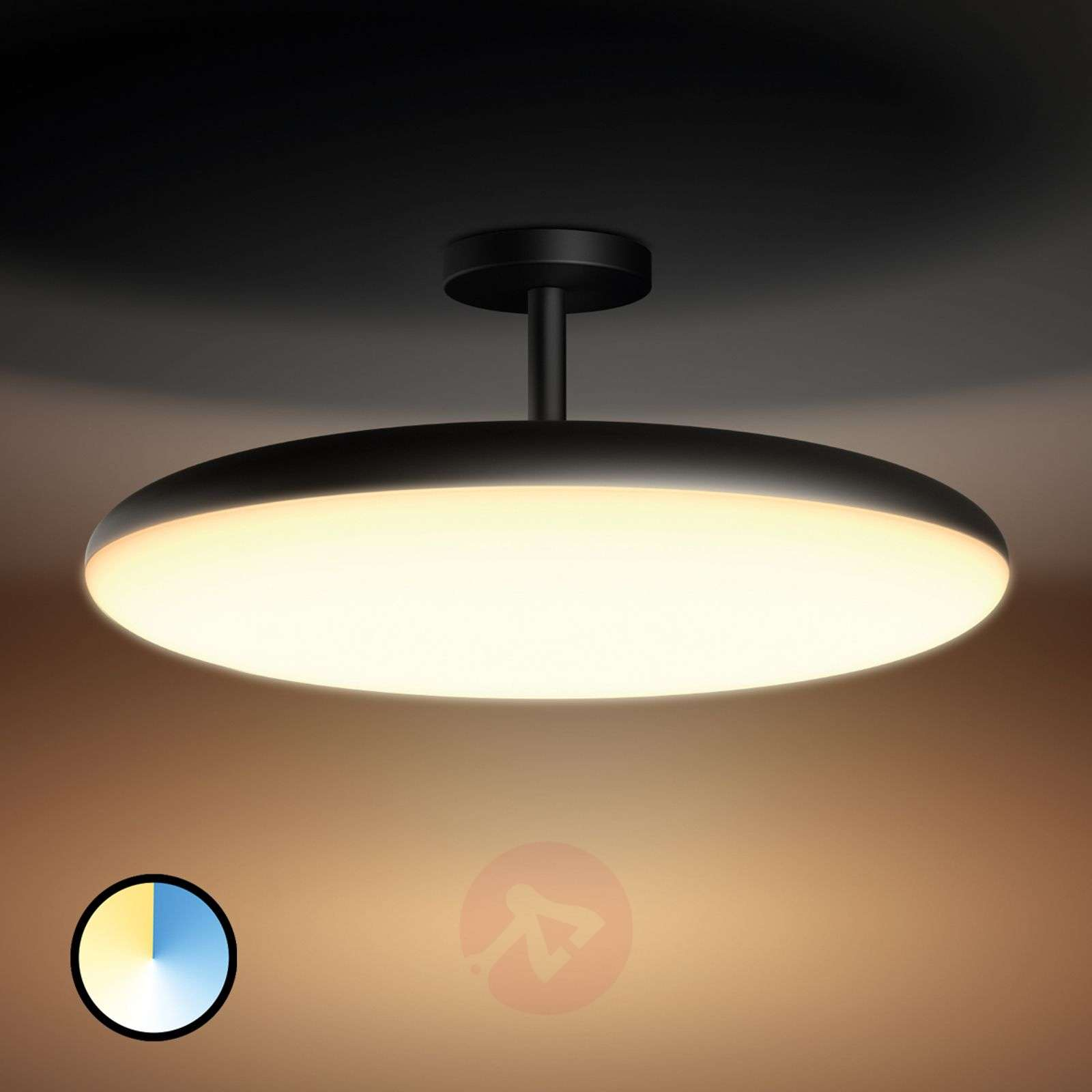 Plafoniera Tubo Led Philips : Controllable philips hue led ceiling lamp cher lights.ie