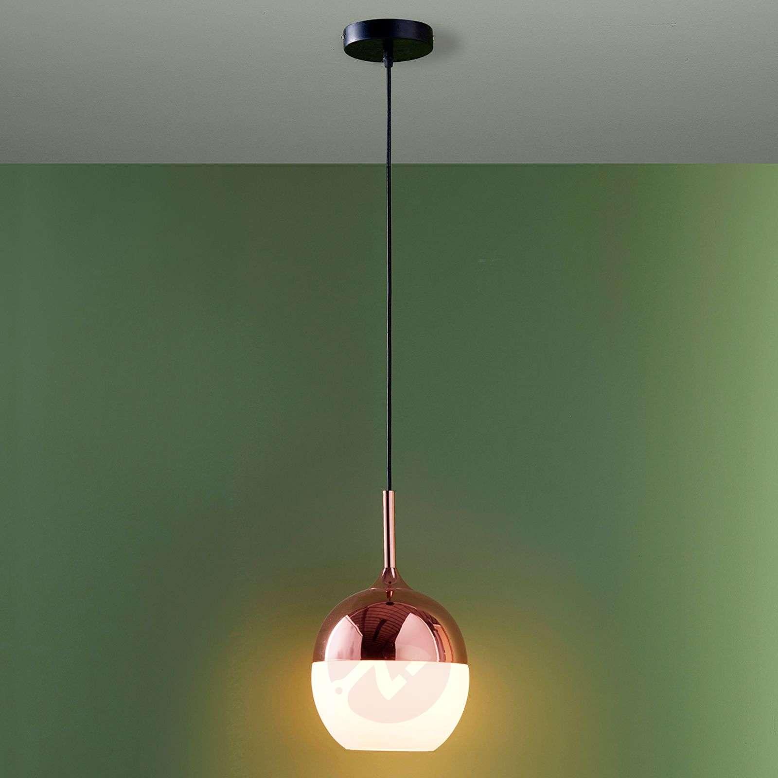 Copper-coloured Deda pendant lamp-9620990-03